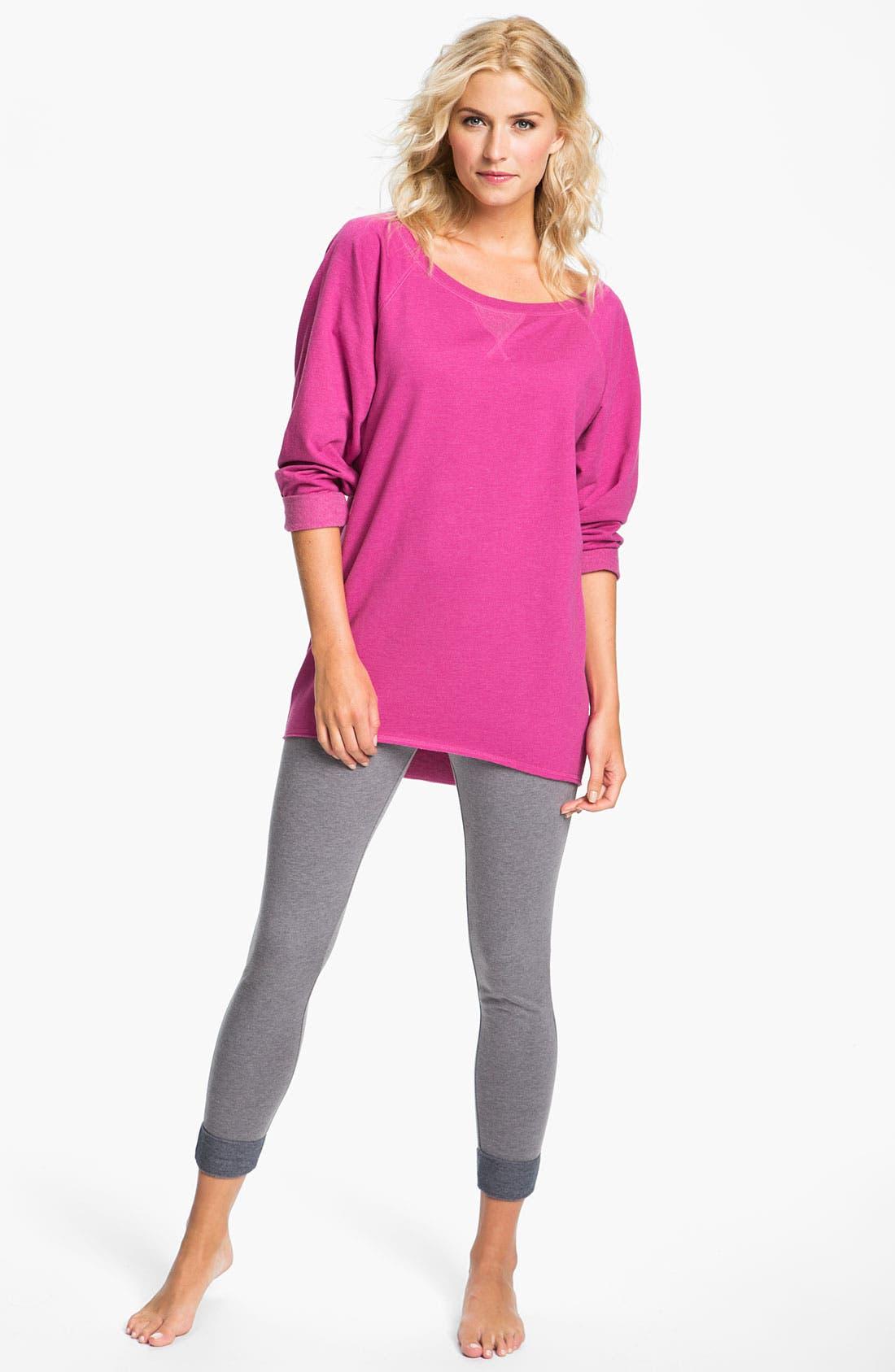 Alternate Image 4  - Make + Model 'Bundled' Sweatshirt