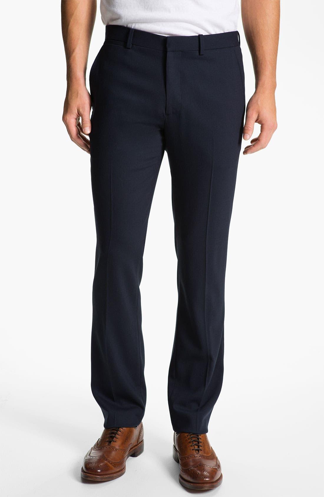 Alternate Image 1 Selected - Theory 'Marlo Revelstoke' Straight Leg Pants