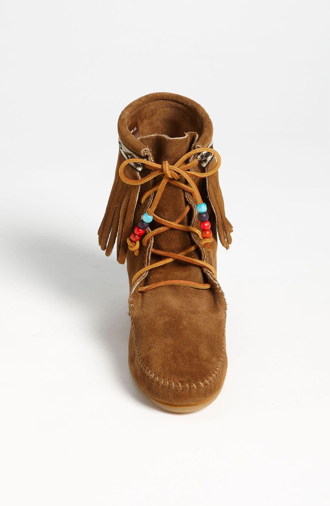 Alternate Image 3  - Minnetonka 'Beaded Tramper' Boot