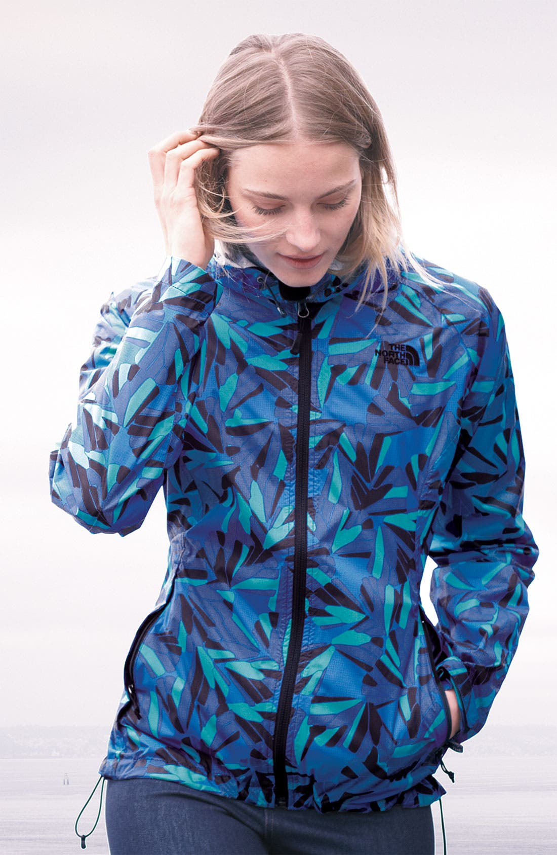Alternate Image 2  - The North Face Jacket & Hue Leggings