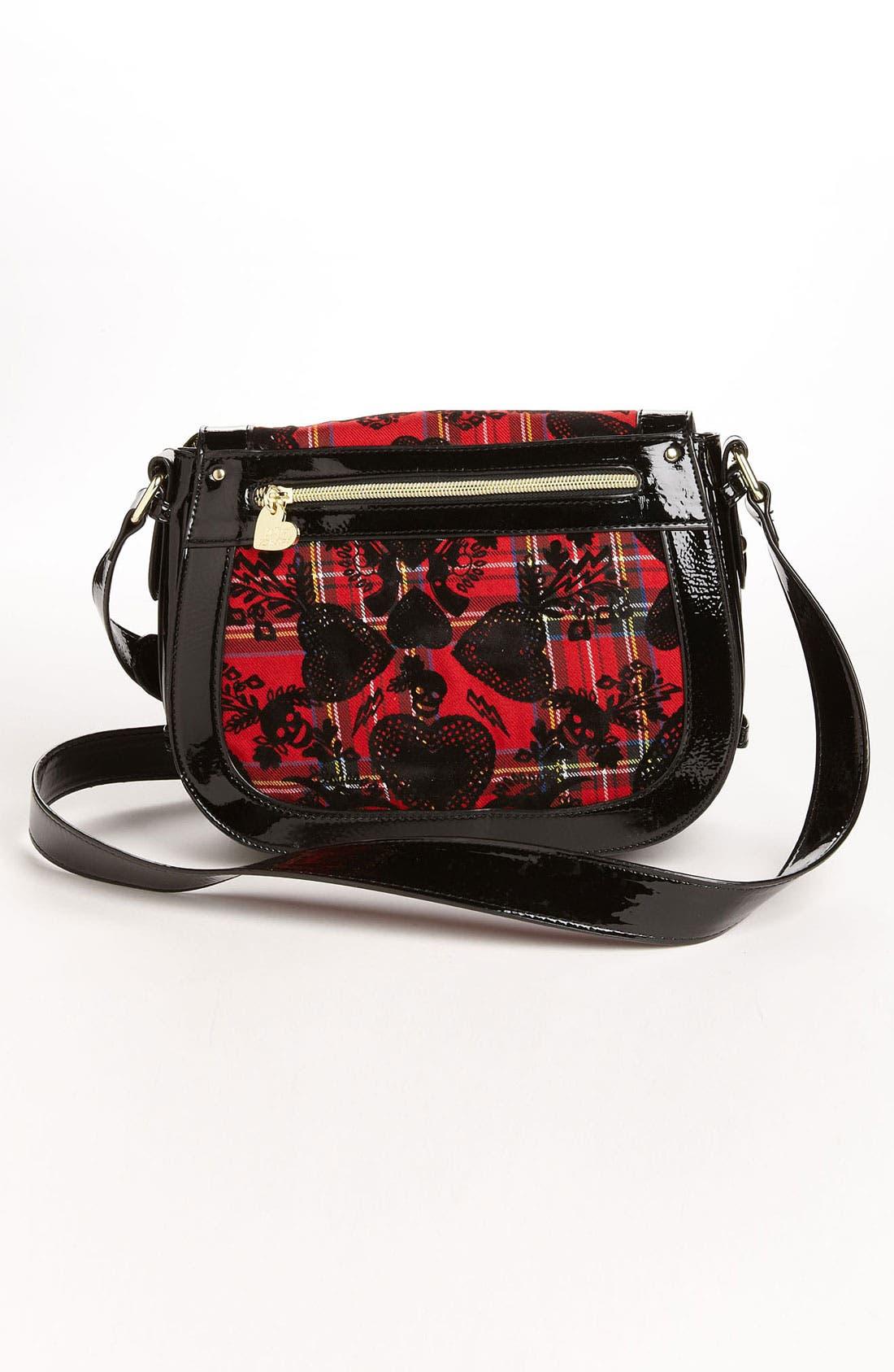 Alternate Image 4  - Betsey Johnson 'School of Hearts' Crossbody Bag