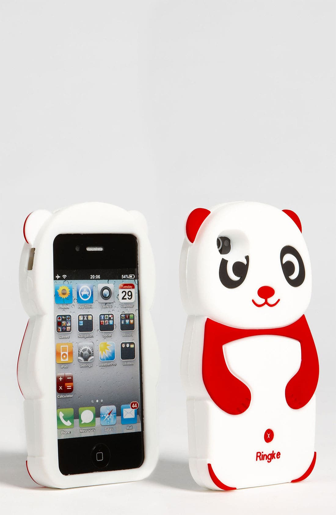Alternate Image 1 Selected - BP. iPhone 4 & 4S Panda Case