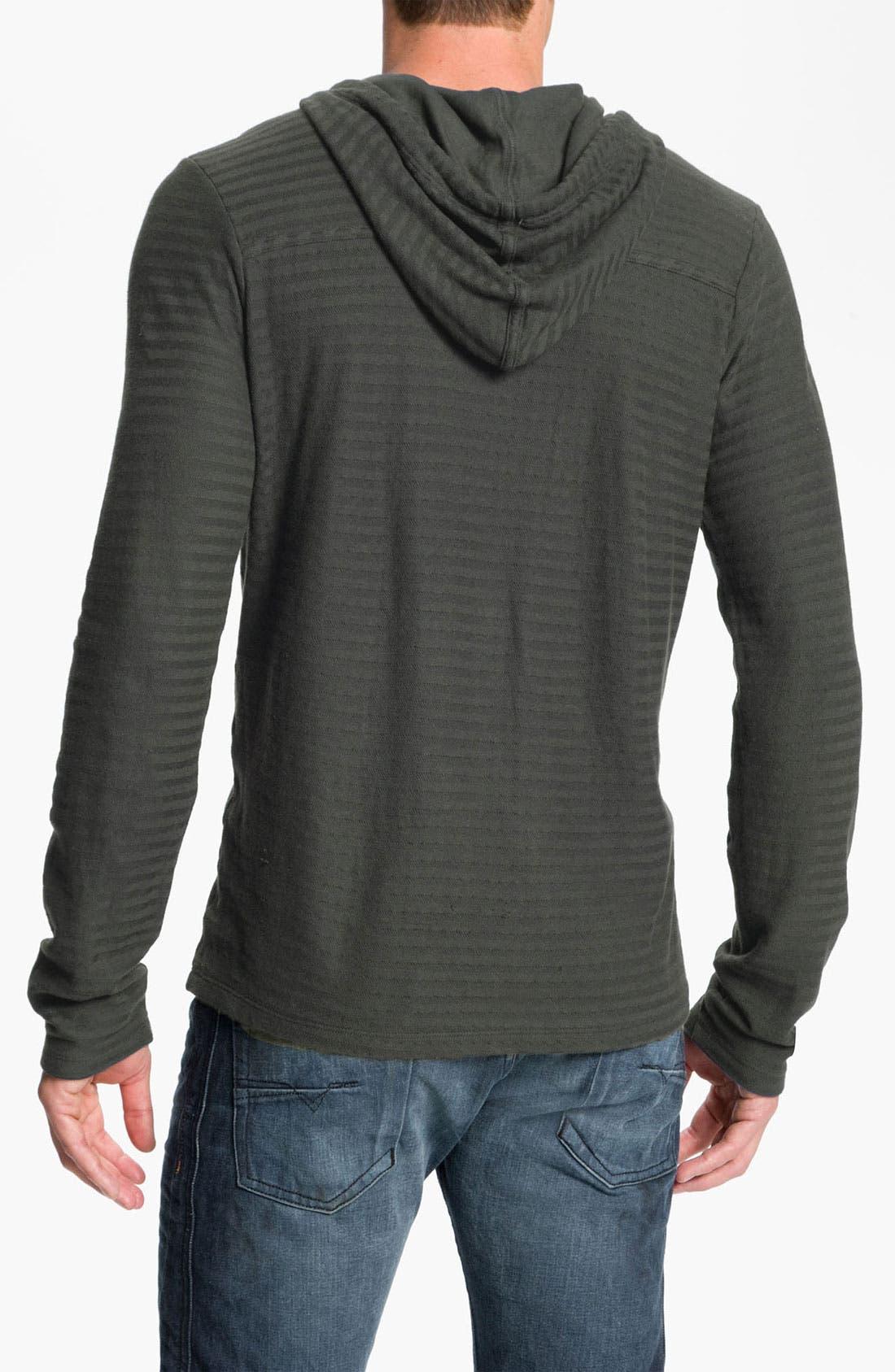 Alternate Image 2  - NSF Clothing 'Spencer' Stripe Hooded Henley