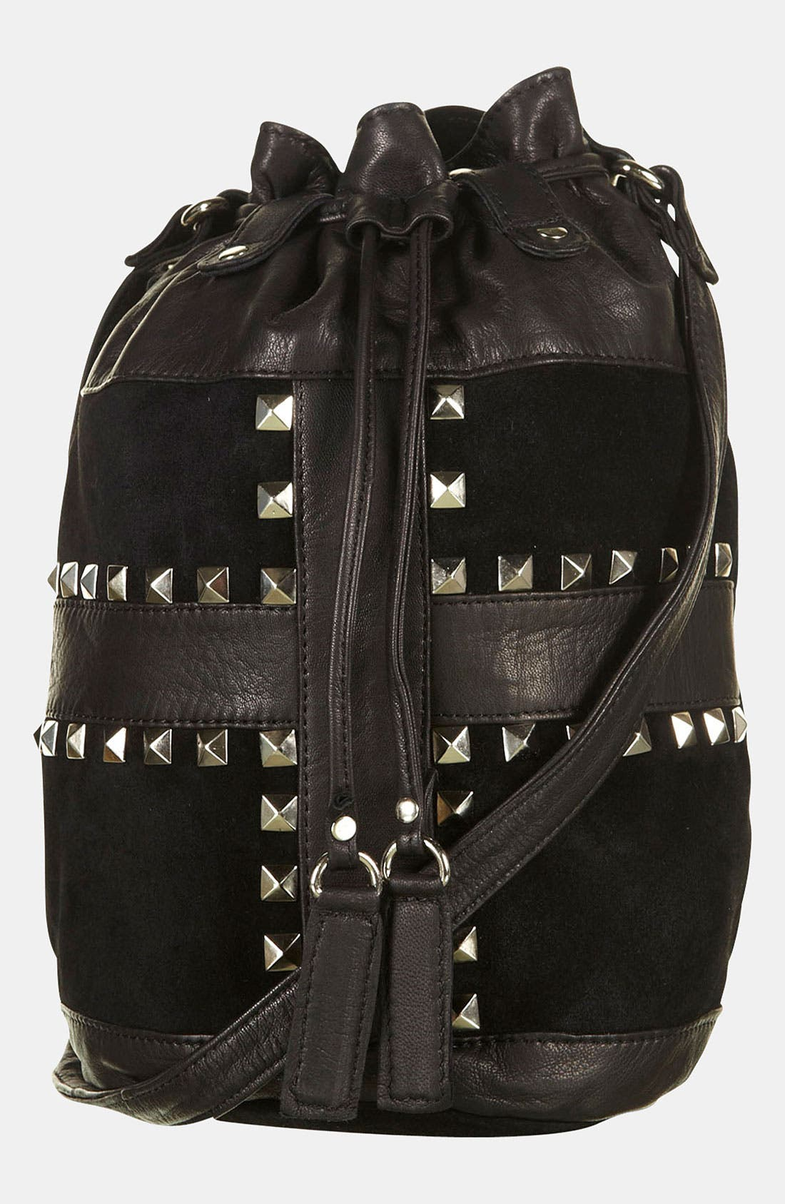 Alternate Image 2  - Topshop 'Cross' Studded Duffle