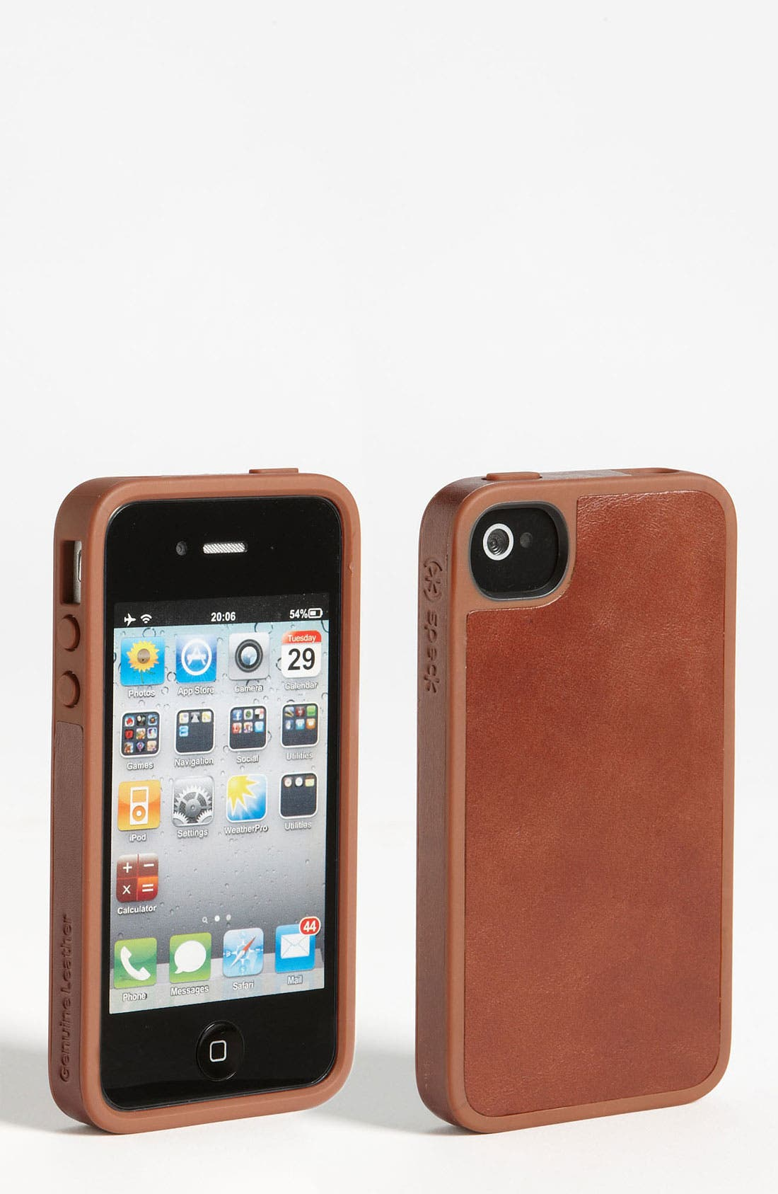 Alternate Image 1 Selected - Speck 'FabShell Luxe' iPhone 4 & 4S Case