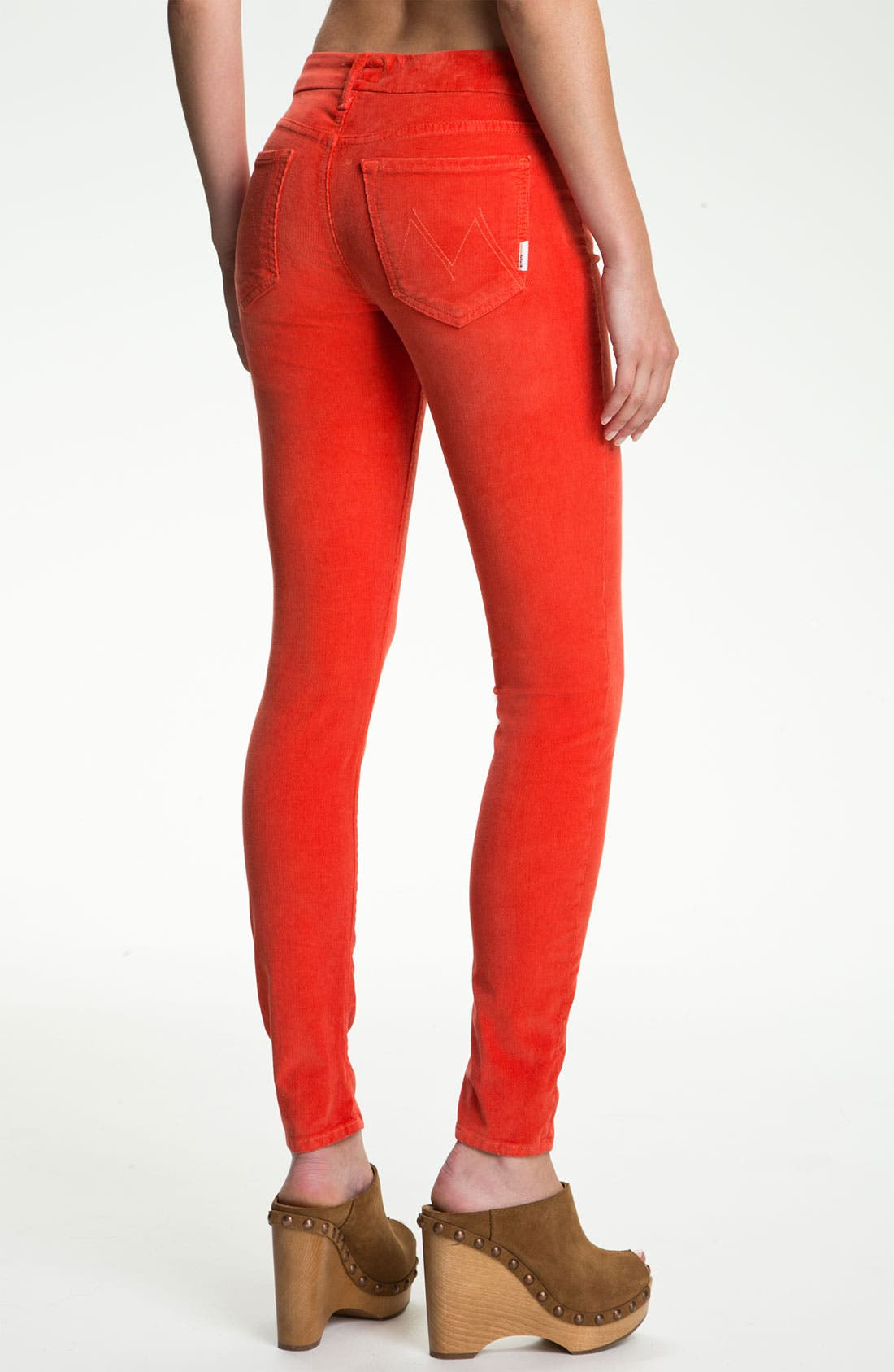 Main Image - MOTHER 'The Looker' Skinny Stretch Corduroy Pants
