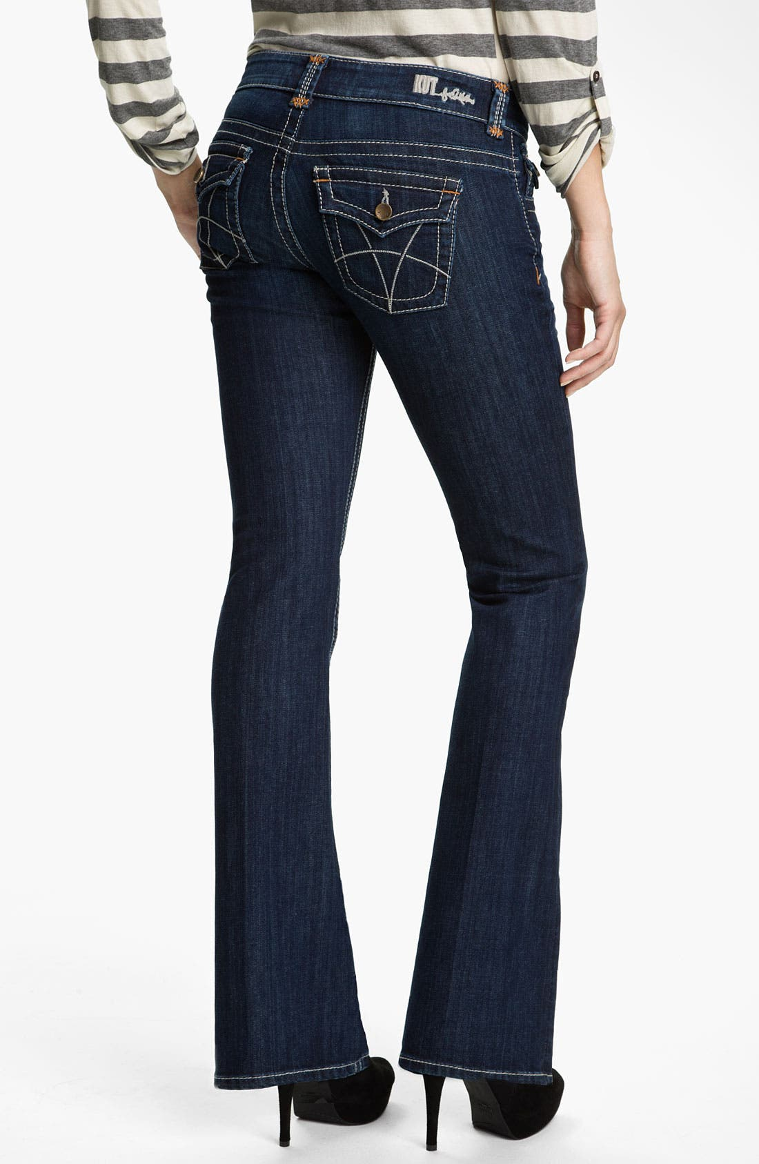 Alternate Image 2  - KUT from the Kloth Heavy Stitch Bootcut Jeans