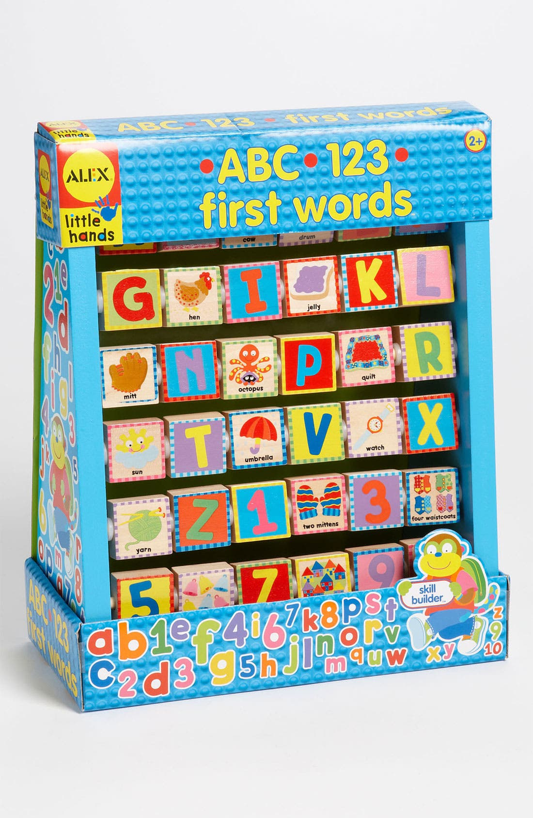 Alternate Image 1 Selected - Alex® Toys 'ABC 123 First Words' Toy