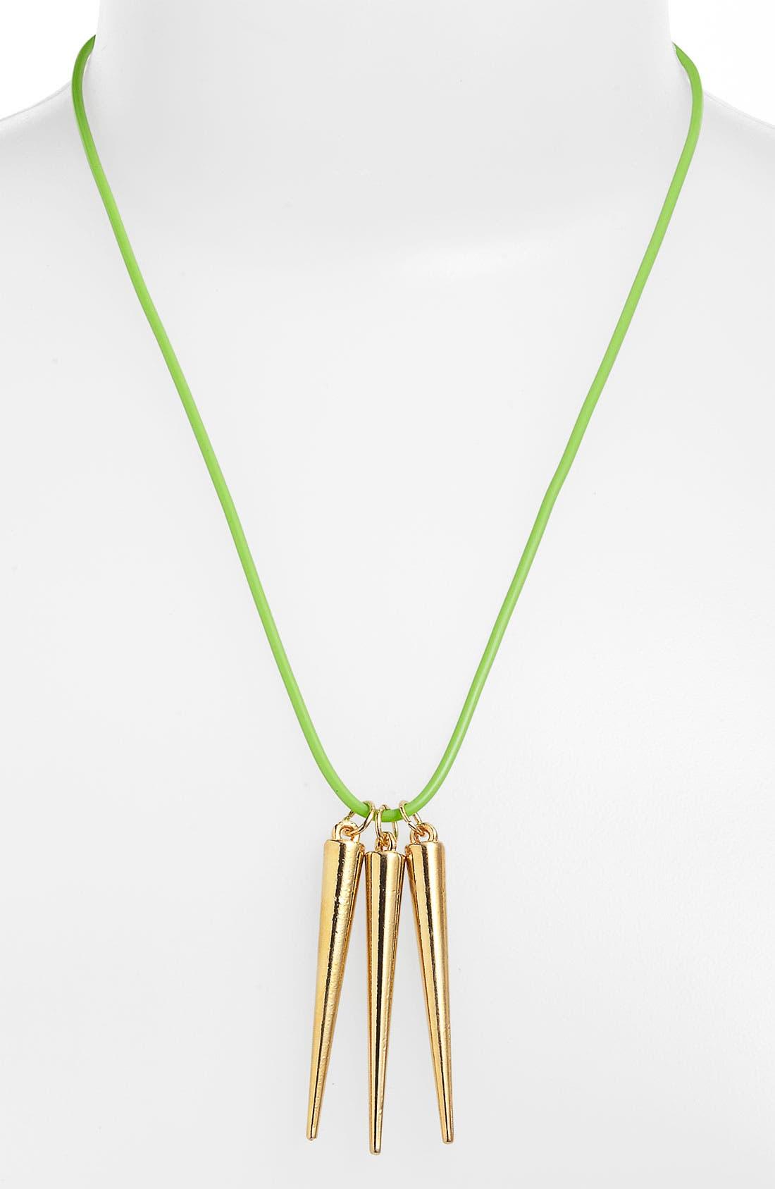 Alternate Image 1 Selected - Gelley Spike Necklace
