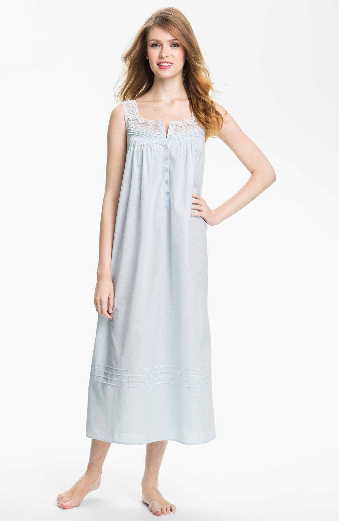 Alternate Image 1 Selected - Eileen West Sleeveless Ballet Nightgown
