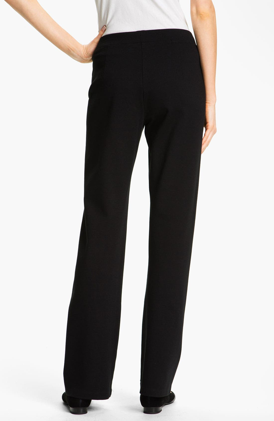 Alternate Image 2  - Eileen Fisher Pull-On Straight Leg Pants