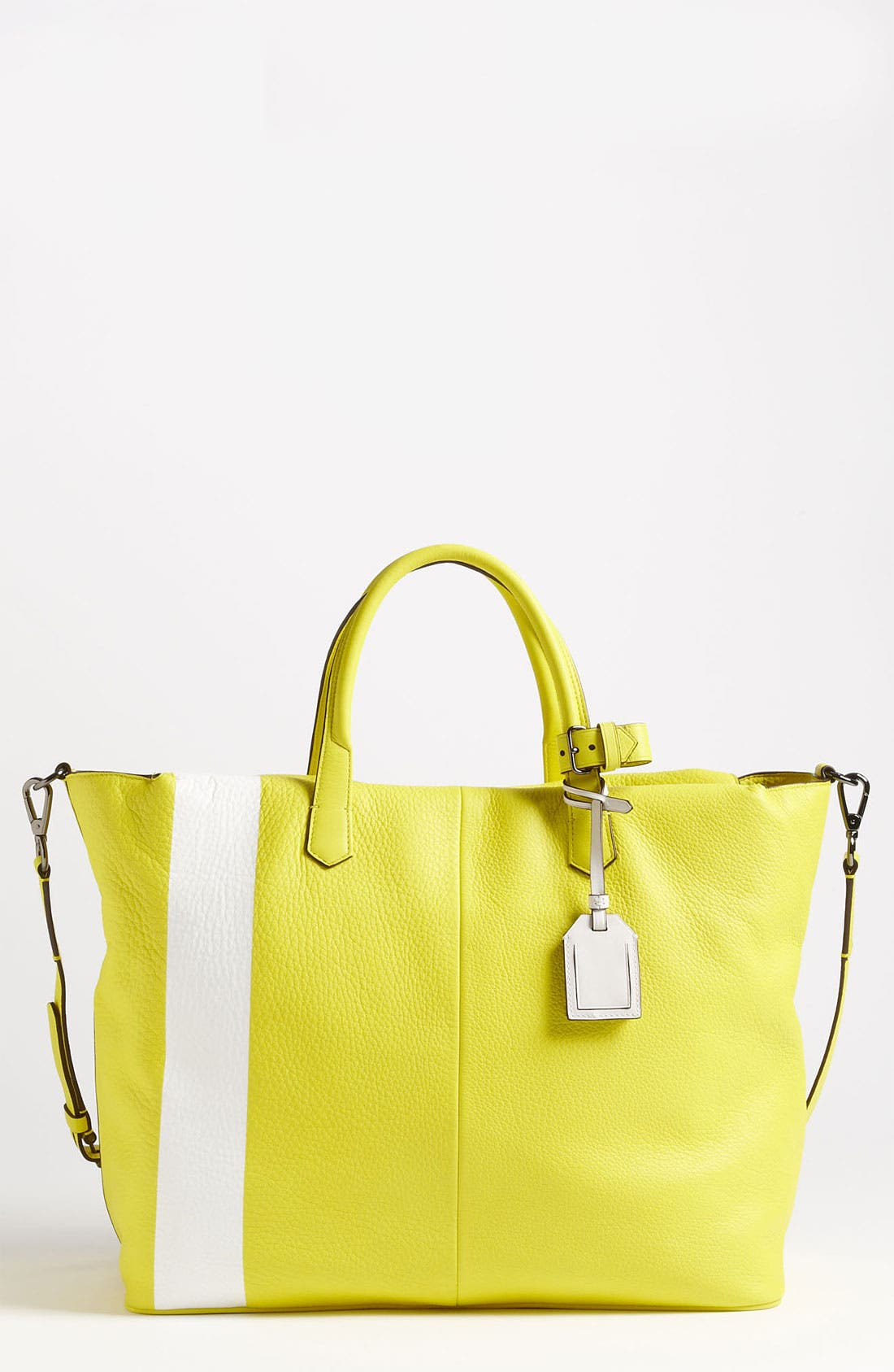 Alternate Image 1 Selected - Reed Krakoff 'Gym Bag I' Leather Satchel