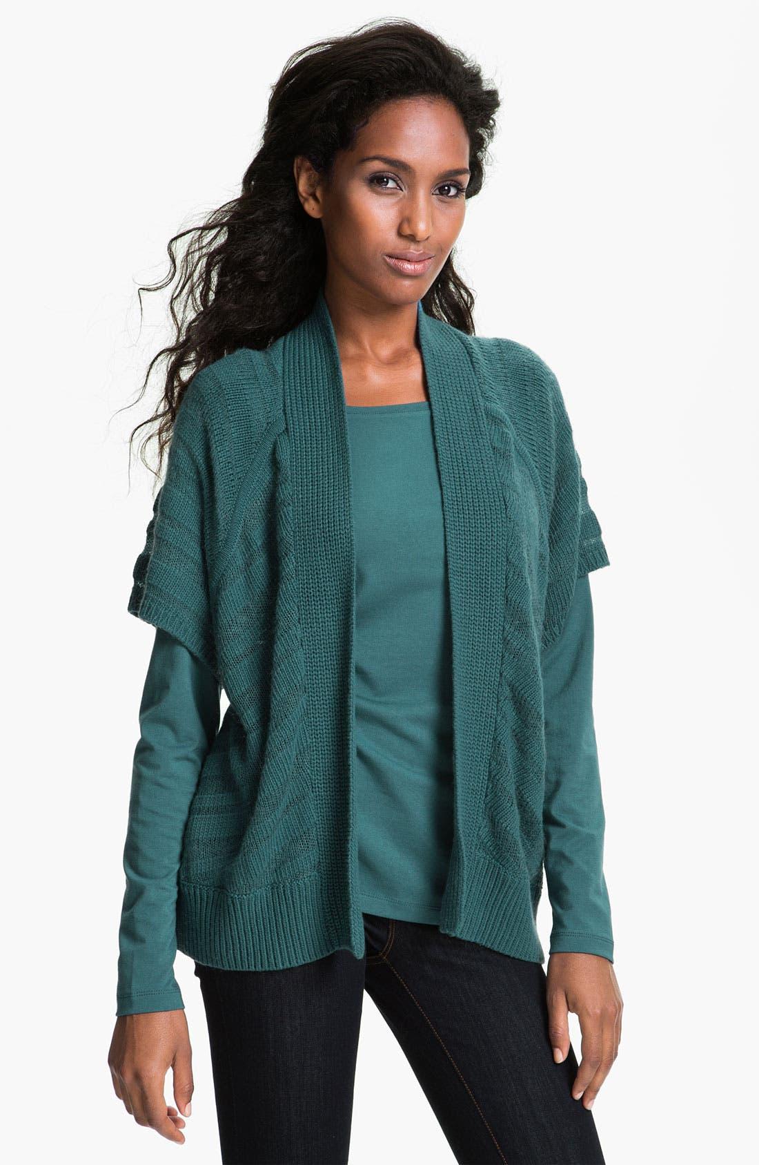 Alternate Image 1 Selected - Amber Sun Stripe Knit Cardigan