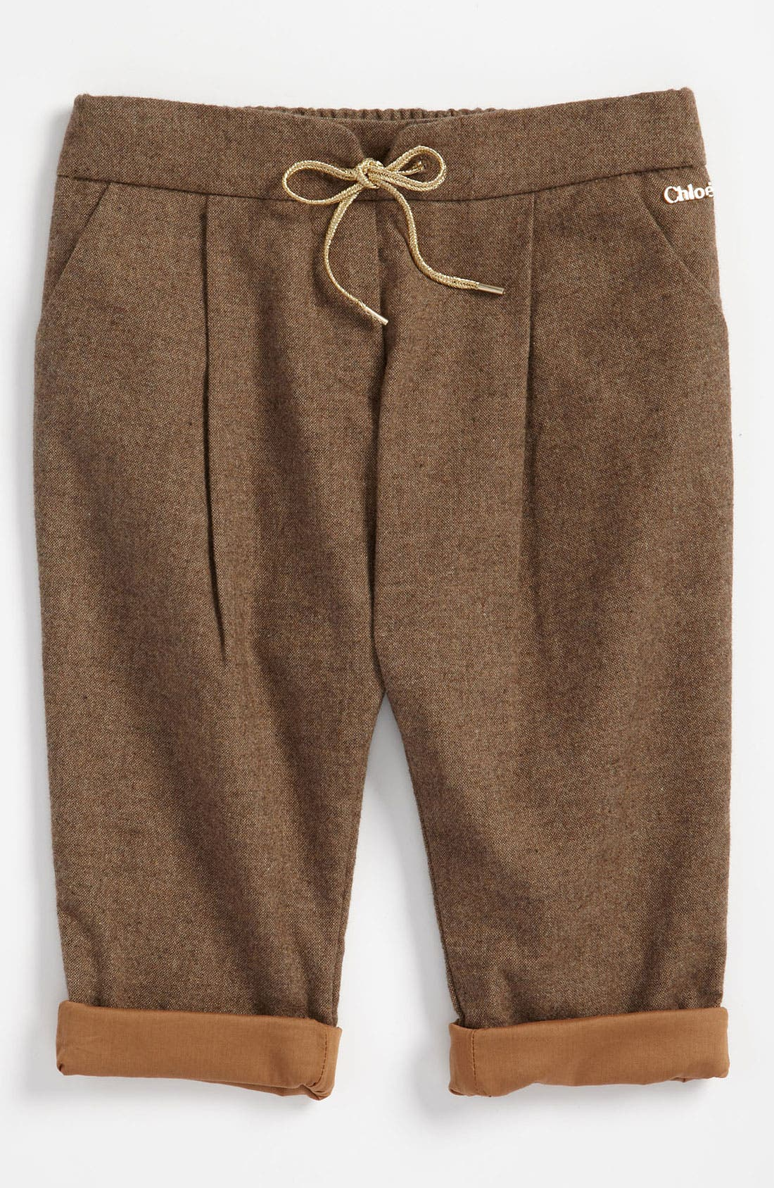 Alternate Image 1 Selected - Chloé Tweed Pants (Infant)