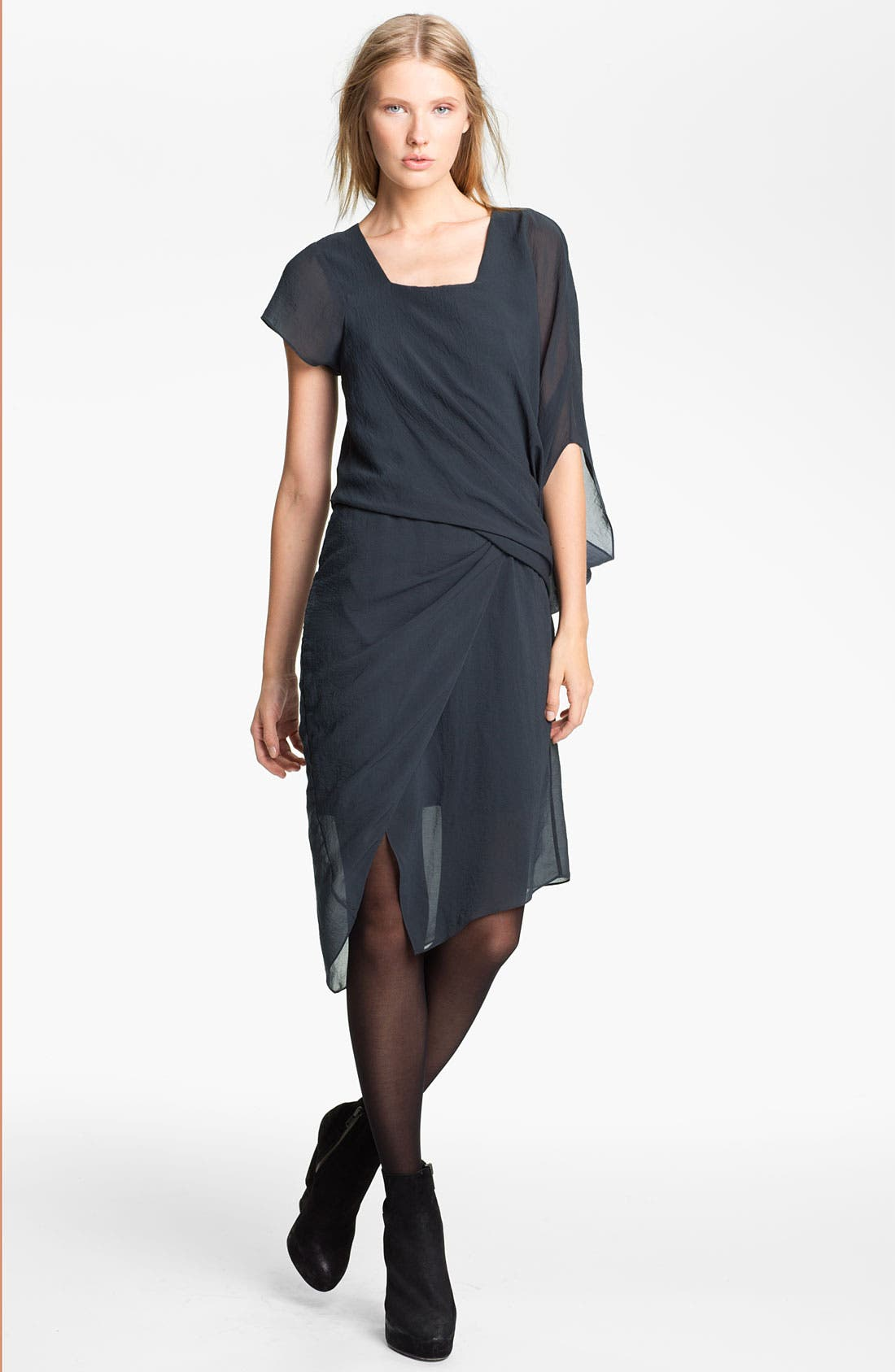 Alternate Image 1 Selected - Helmut Lang 'Lyra' Draped Dress