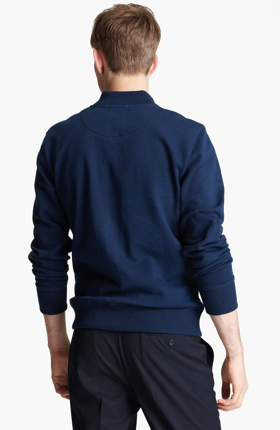 Alternate Image 2  - Topman 'North Shore' Jersey Knit Bomber Jacket