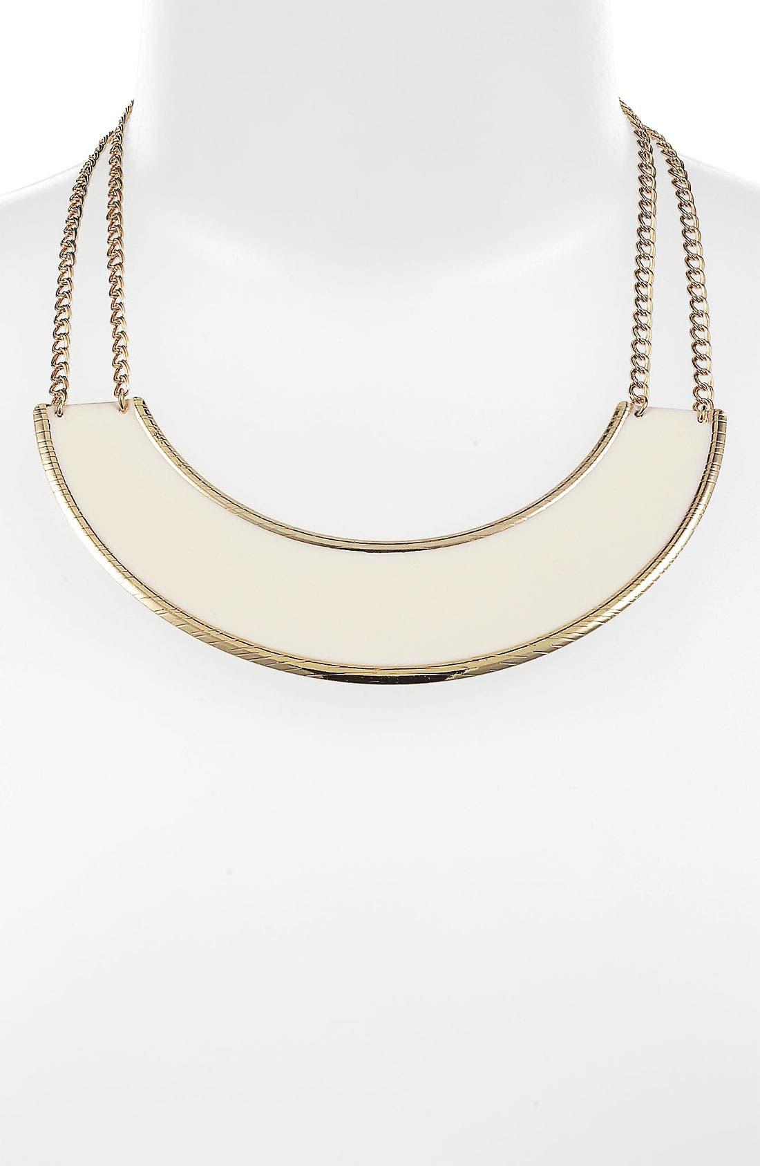 Alternate Image 1 Selected - Rachel Enameled Arc Necklace