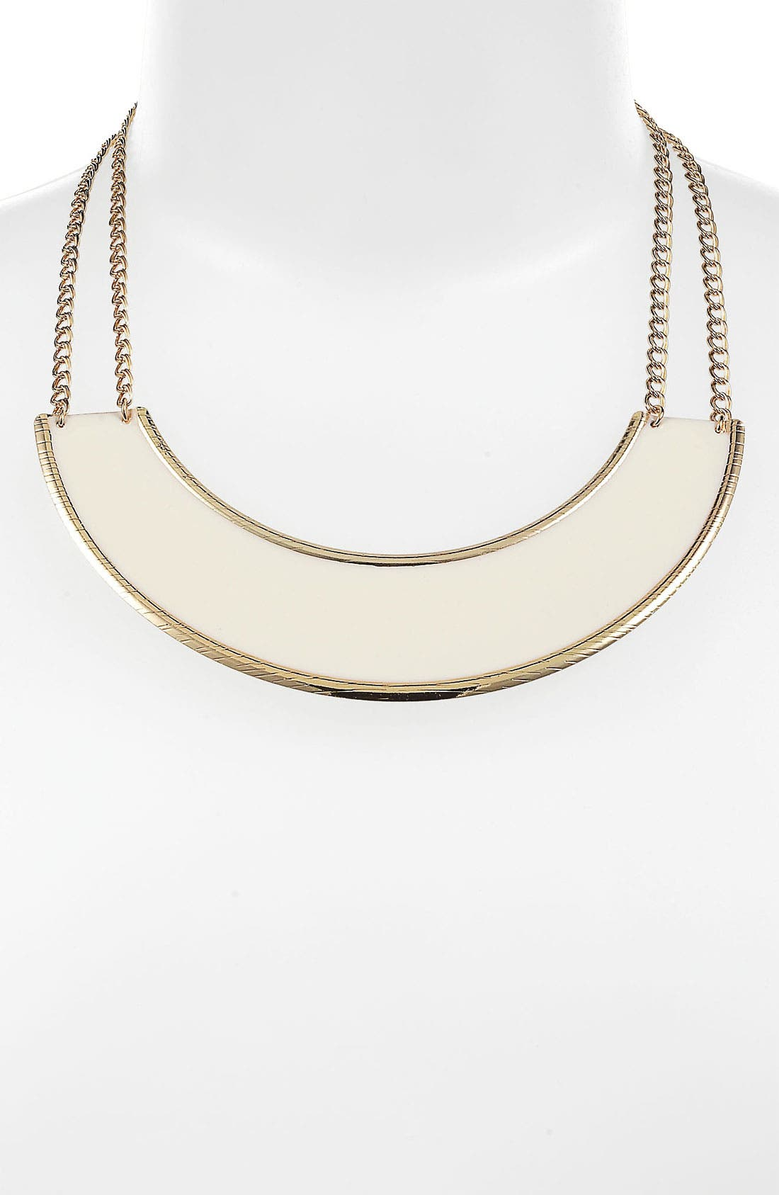 Main Image - Rachel Enameled Arc Necklace