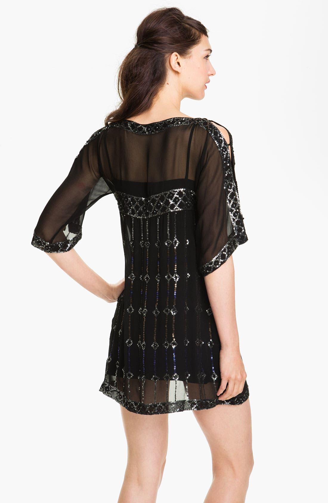 Alternate Image 2  - Nanette Lepore 'Dorian' Silk Shift Dress