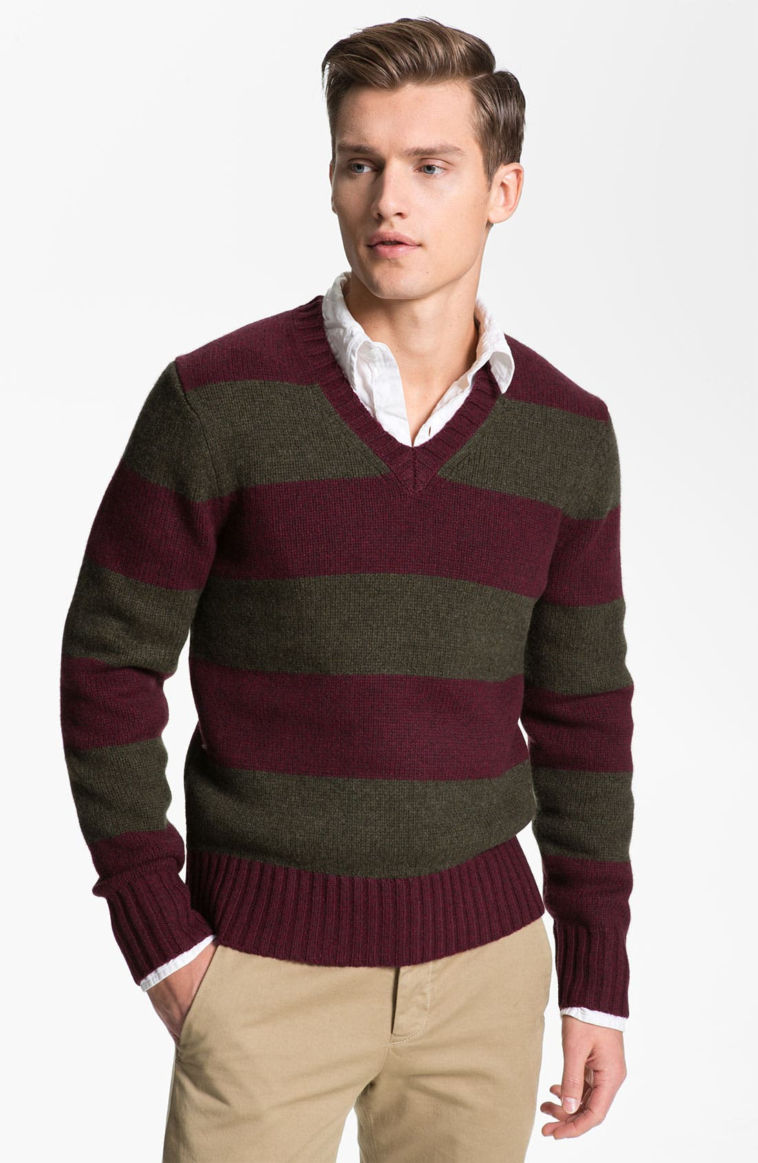 Alternate Image 1 Selected - Jack Spade 'Gibson' V-Neck Sweater