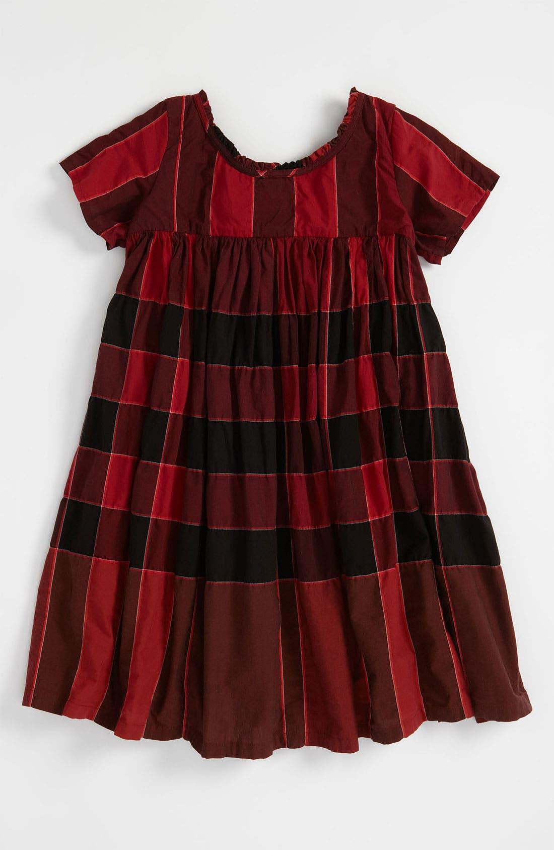 Alternate Image 1 Selected - Burberry Check Print Dress (Little Girls)
