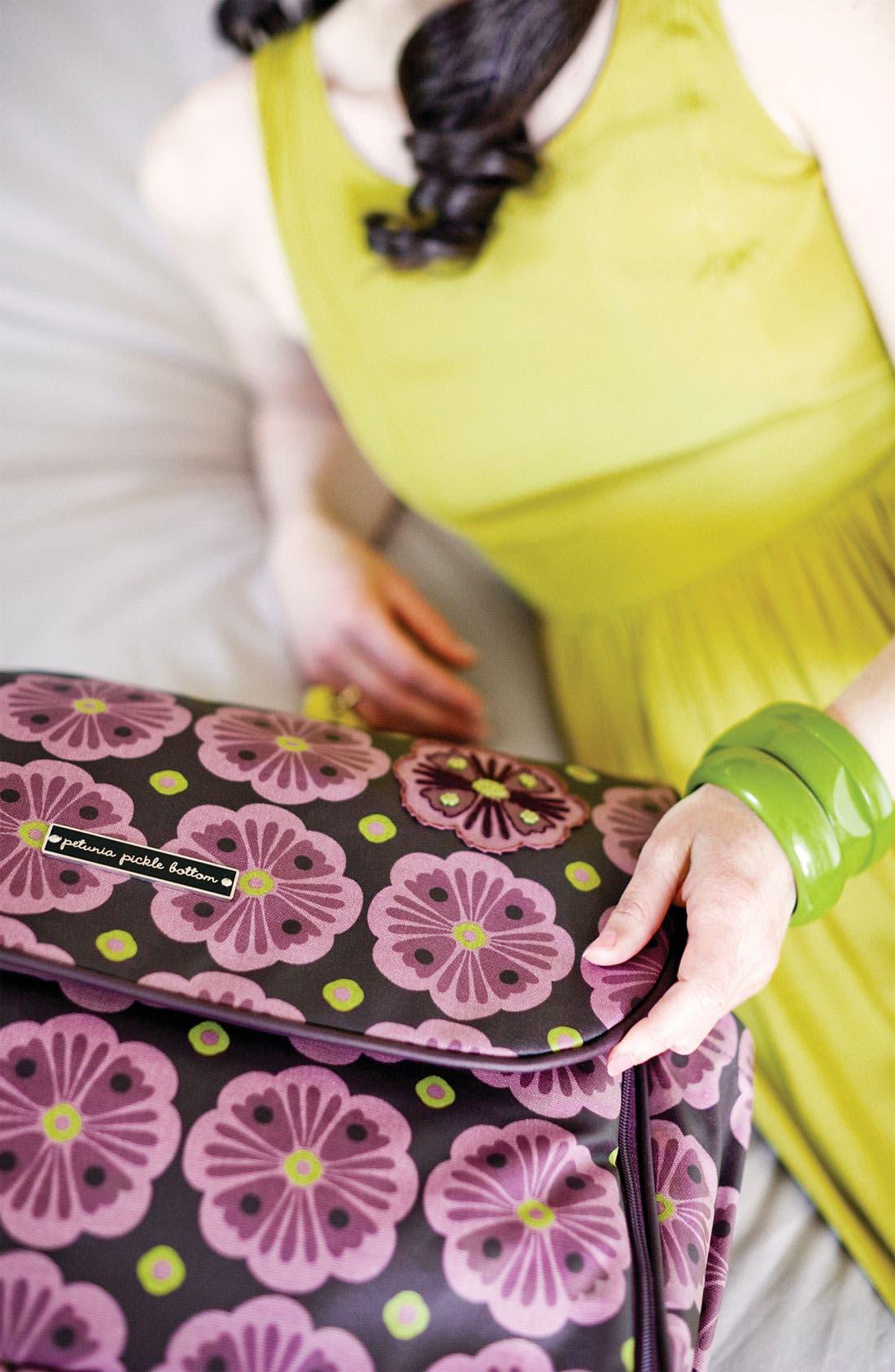 Alternate Image 2  - Petunia Pickle Bottom 'Abundance Boxy' Magnetic Closure Diaper Bag