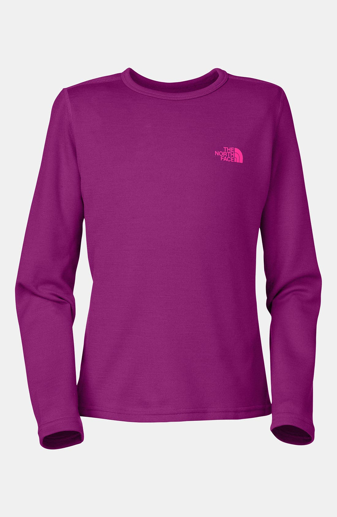 Main Image - The North Face Base Layer Tee (Little Girls & Big Girls)