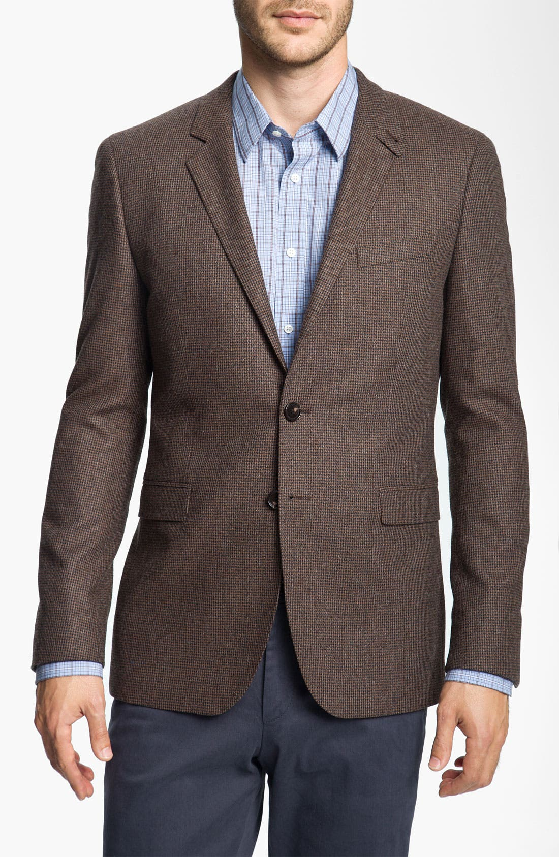 Main Image - BOSS Black 'Rhett' Houndstooth Sportcoat