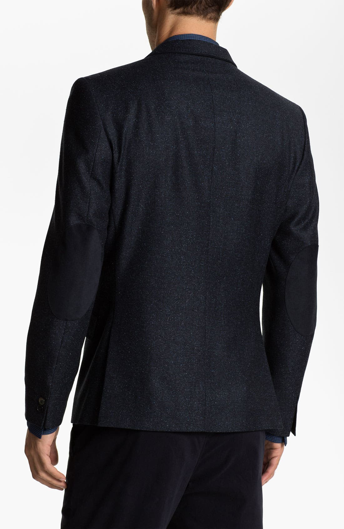 Alternate Image 2  - Ted Baker London Trim Fit Donegal Tweed Blazer