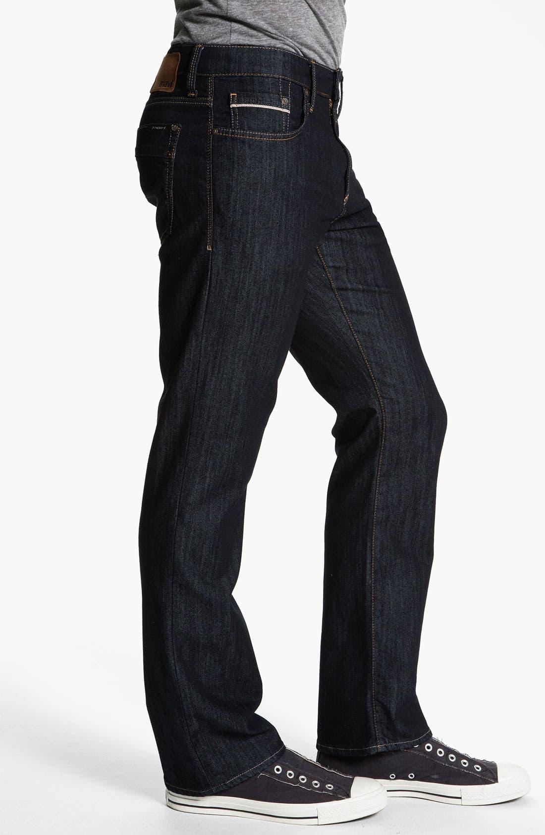 Alternate Image 3  - Mavi Jeans 'Matt' Relaxed Straight Leg Jeans (Kensington)