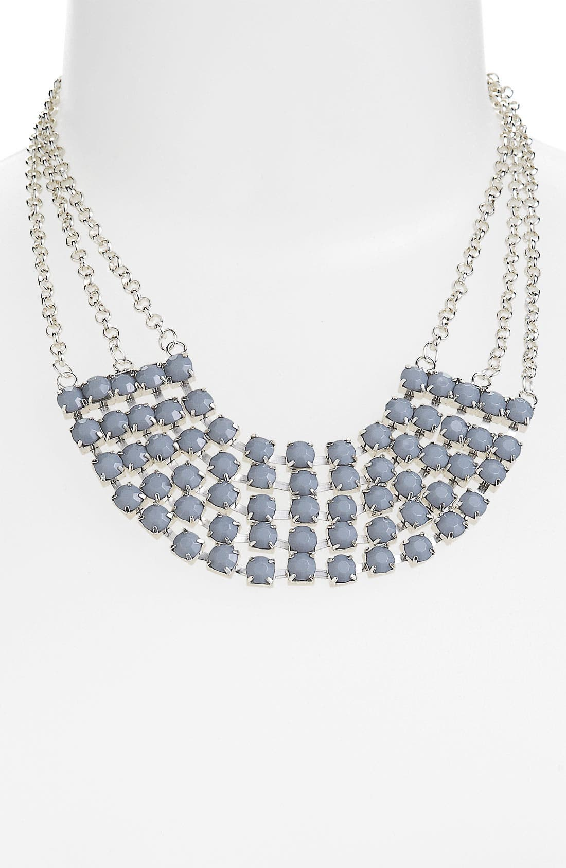 Main Image - Carole Chain & Facet Bib Necklace