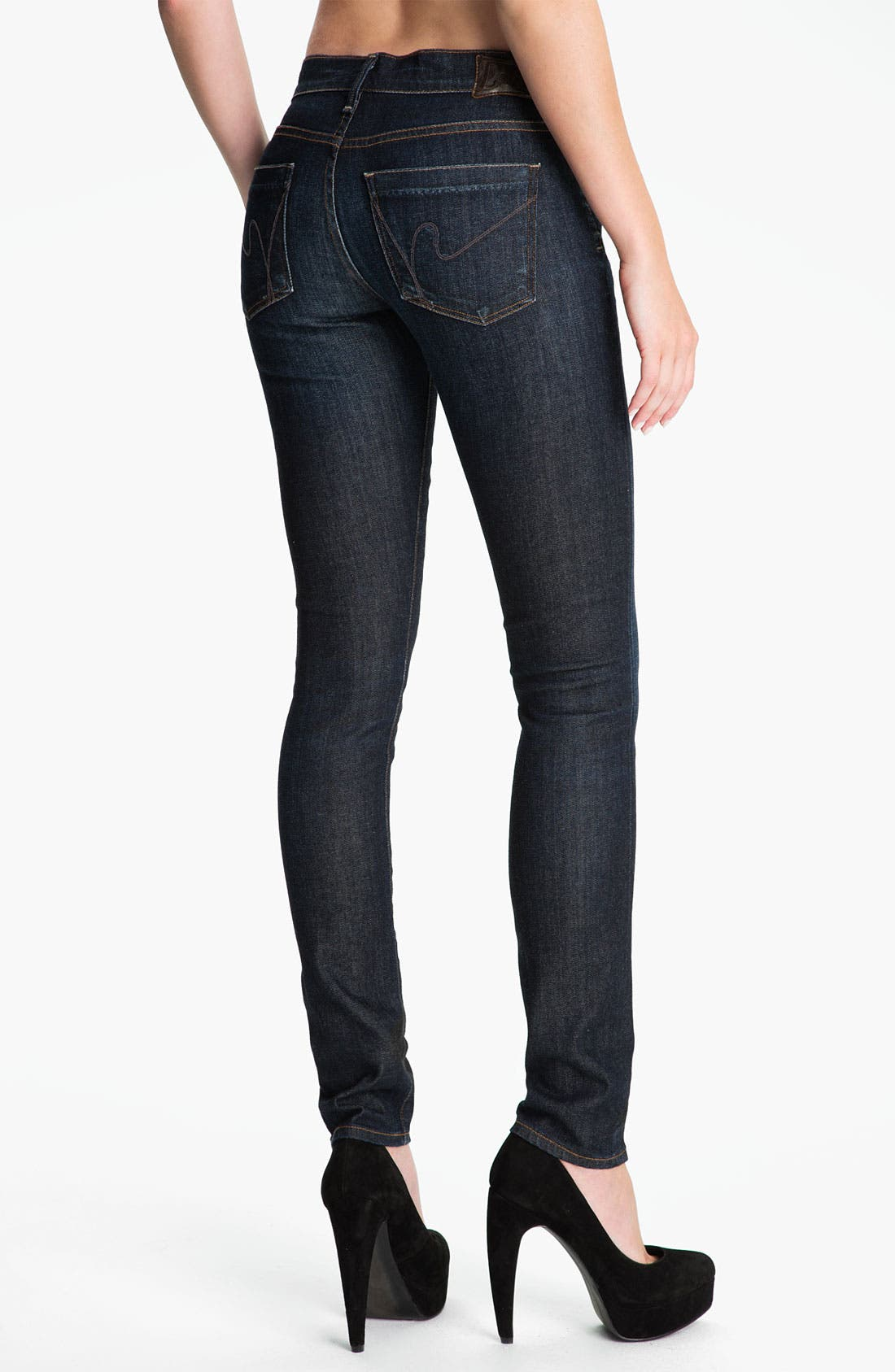 Alternate Image 2  - Citizens of Humanity Skinny Stretch Jeans (Glory)