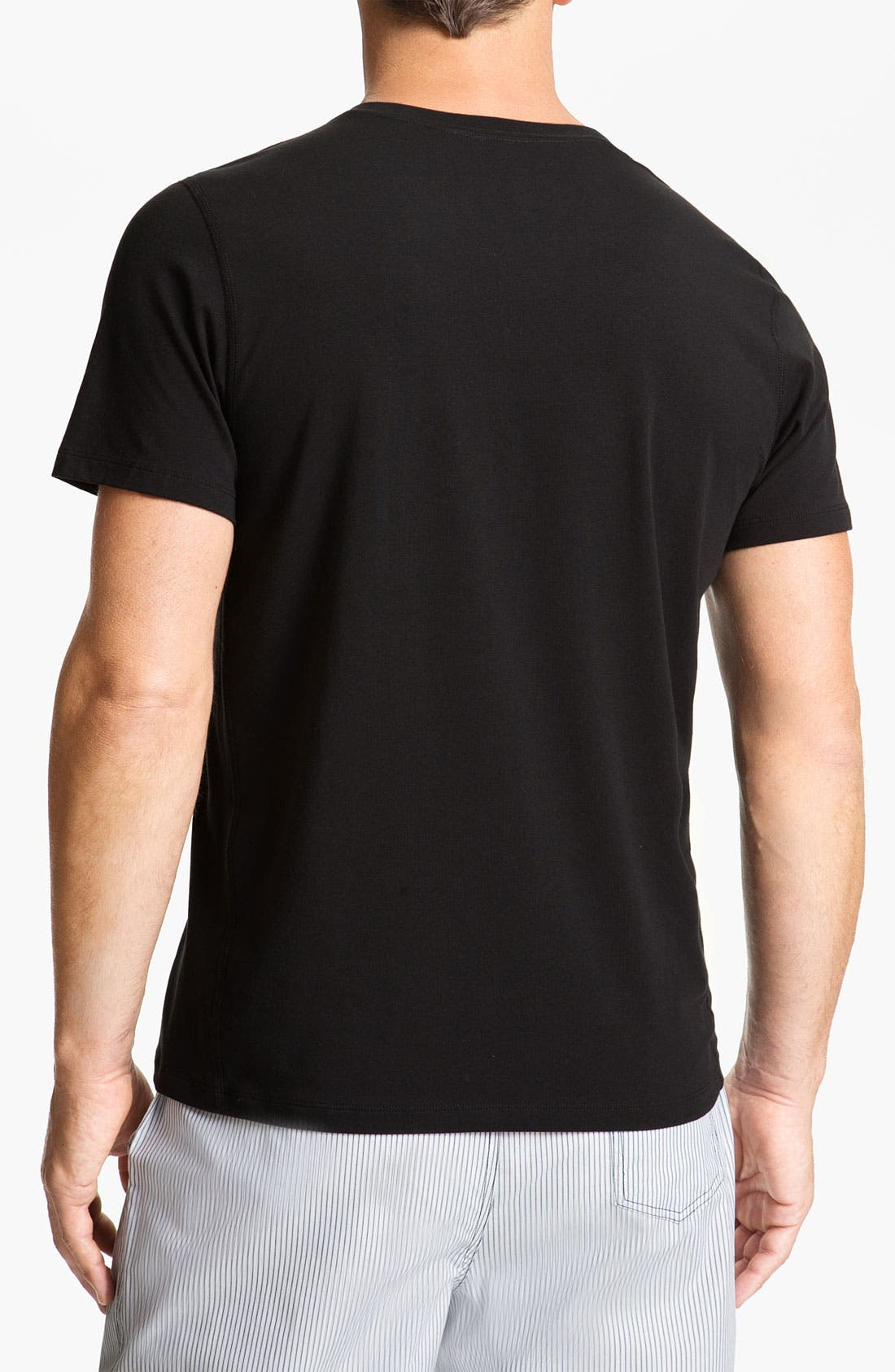 Alternate Image 2  - Daniel Buchler V-Neck T-Shirt