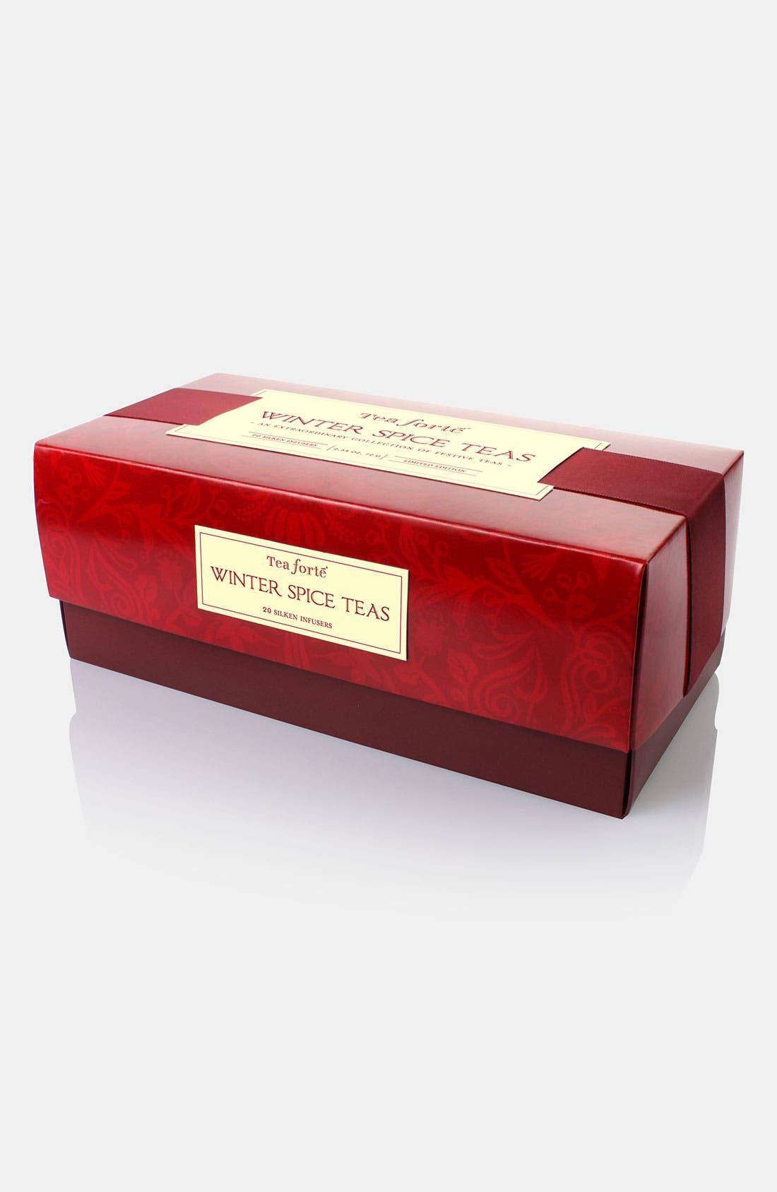 Alternate Image 1 Selected - Tea Forté 'Winter Spice' Boxed Tea