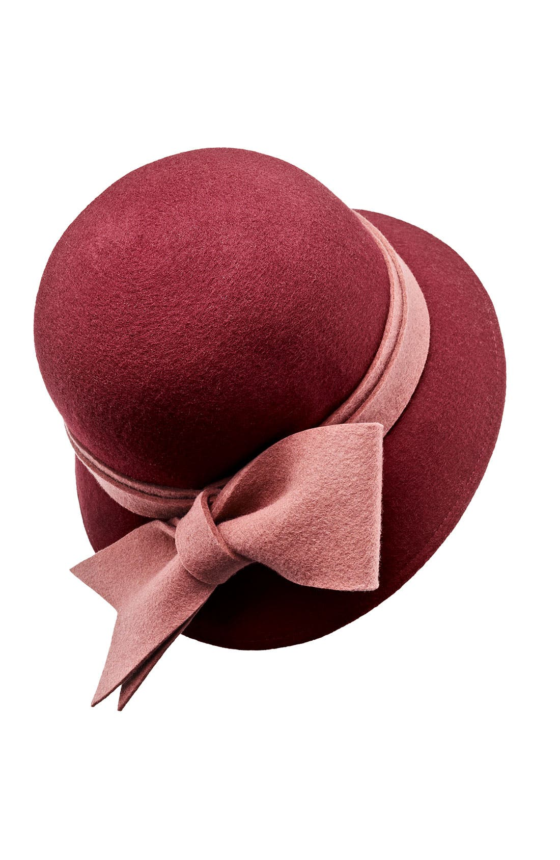Alternate Image 2  - Collection XIIX Heathered Bow Wool Cloche