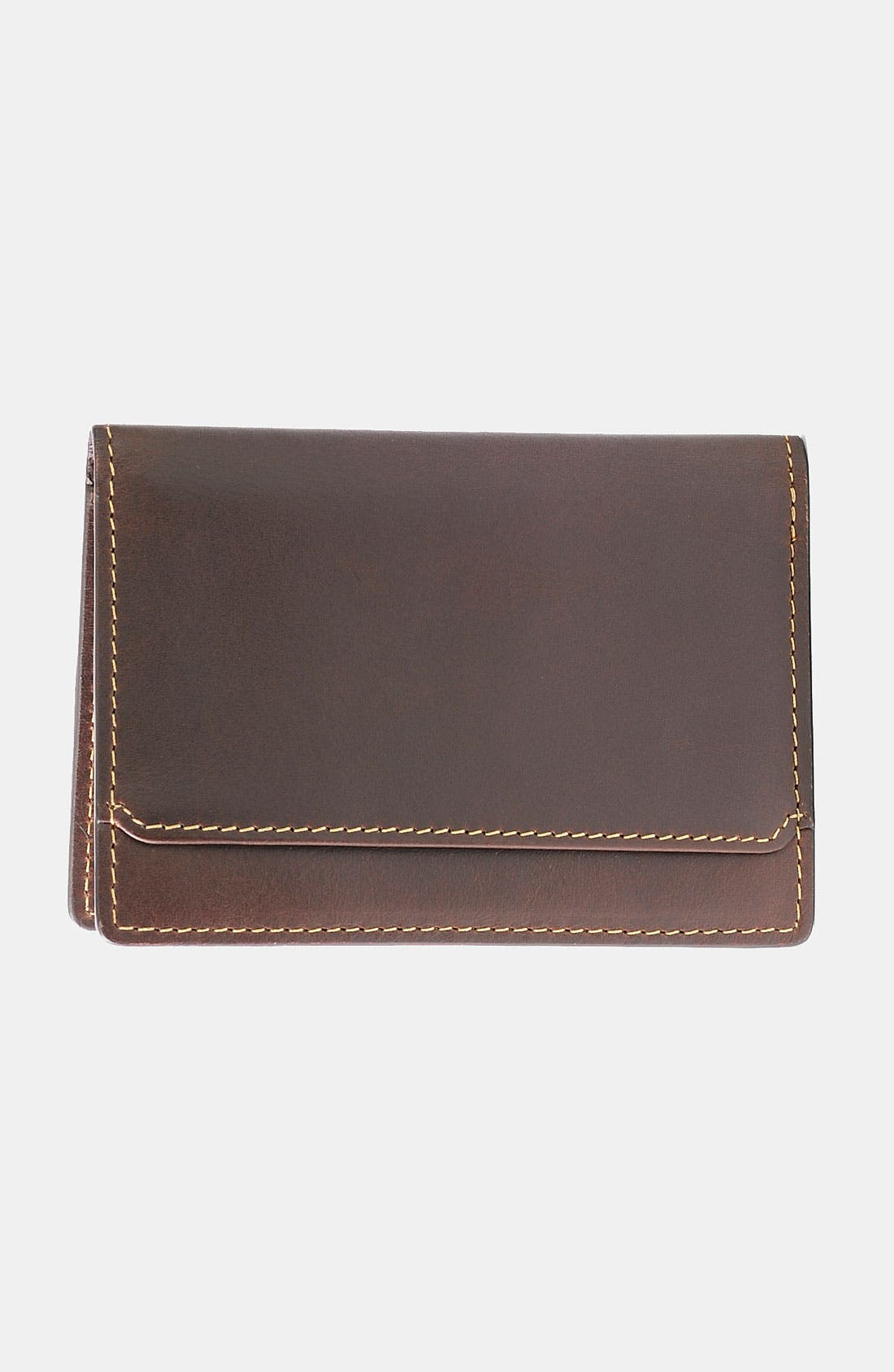 Alternate Image 3  - Boconi 'Bryant - Slim' RFID Blocker Leather Card Case