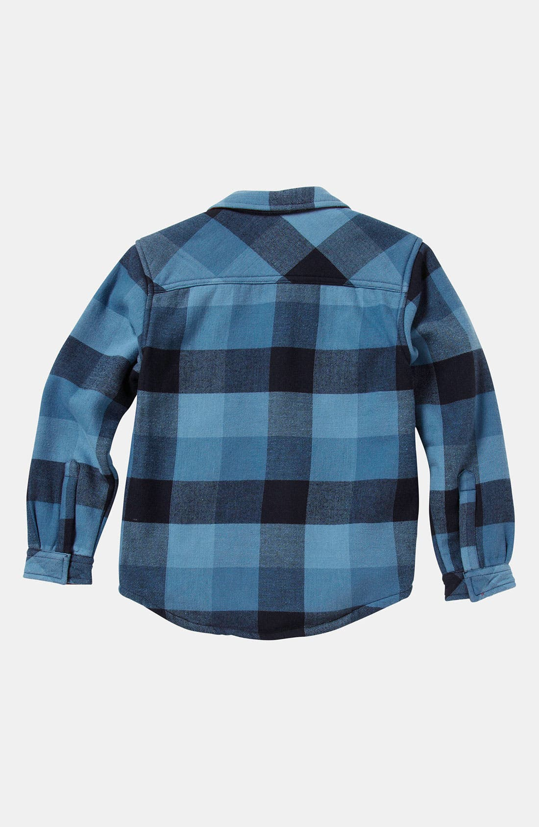 Alternate Image 2  - Quiksilver 'Coffee Crusher' Flannel Shirt (Toddler)