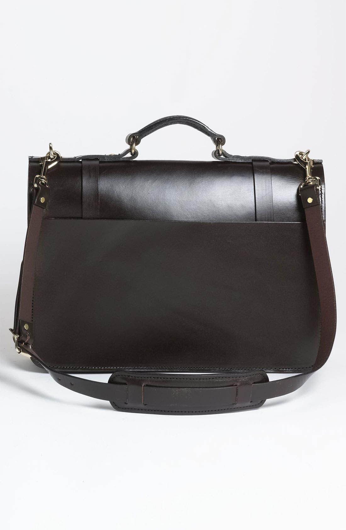 Alternate Image 2  - Filson Leather Field Satchel