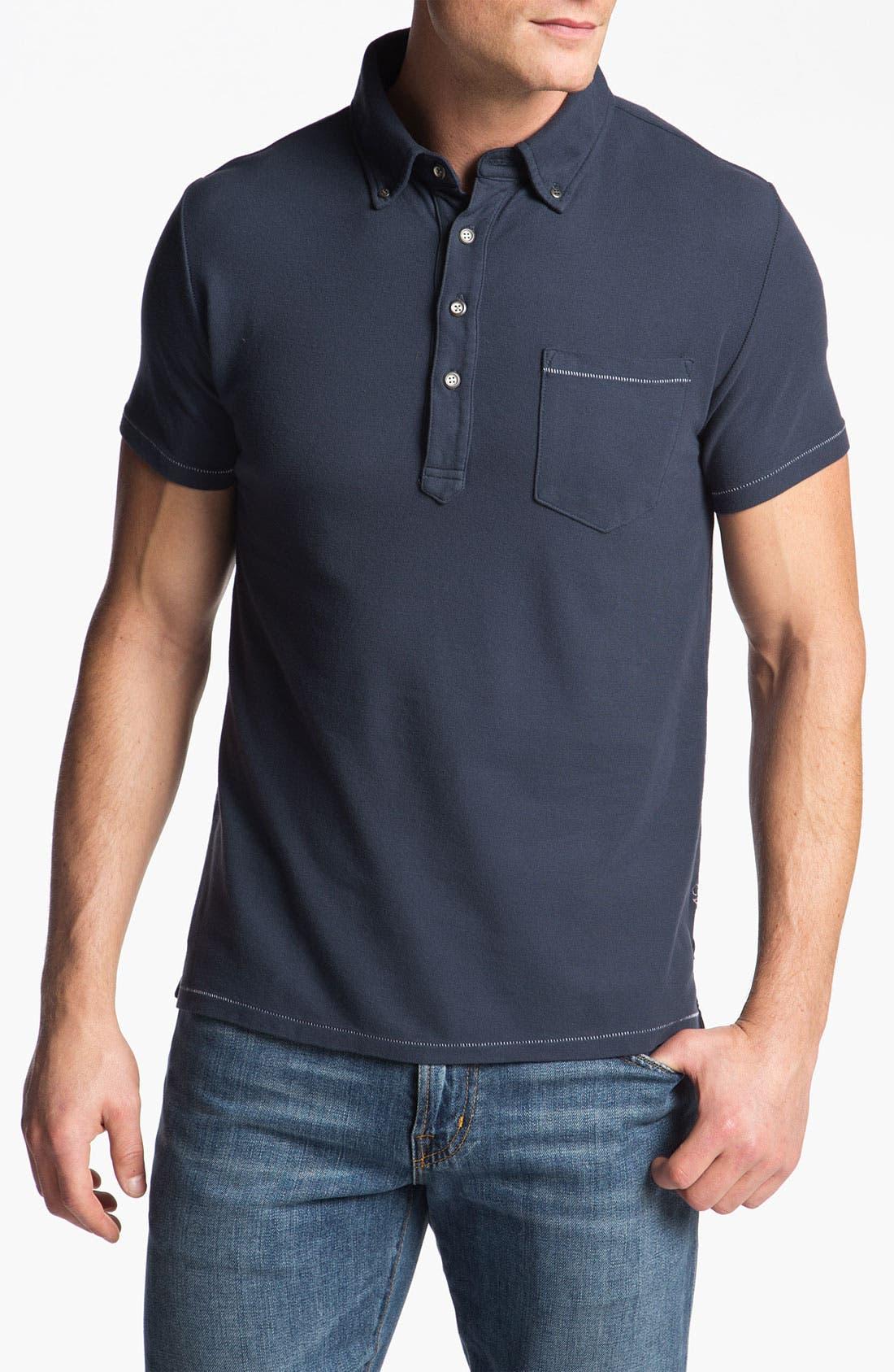 Main Image - AG Jeans Piqué Polo