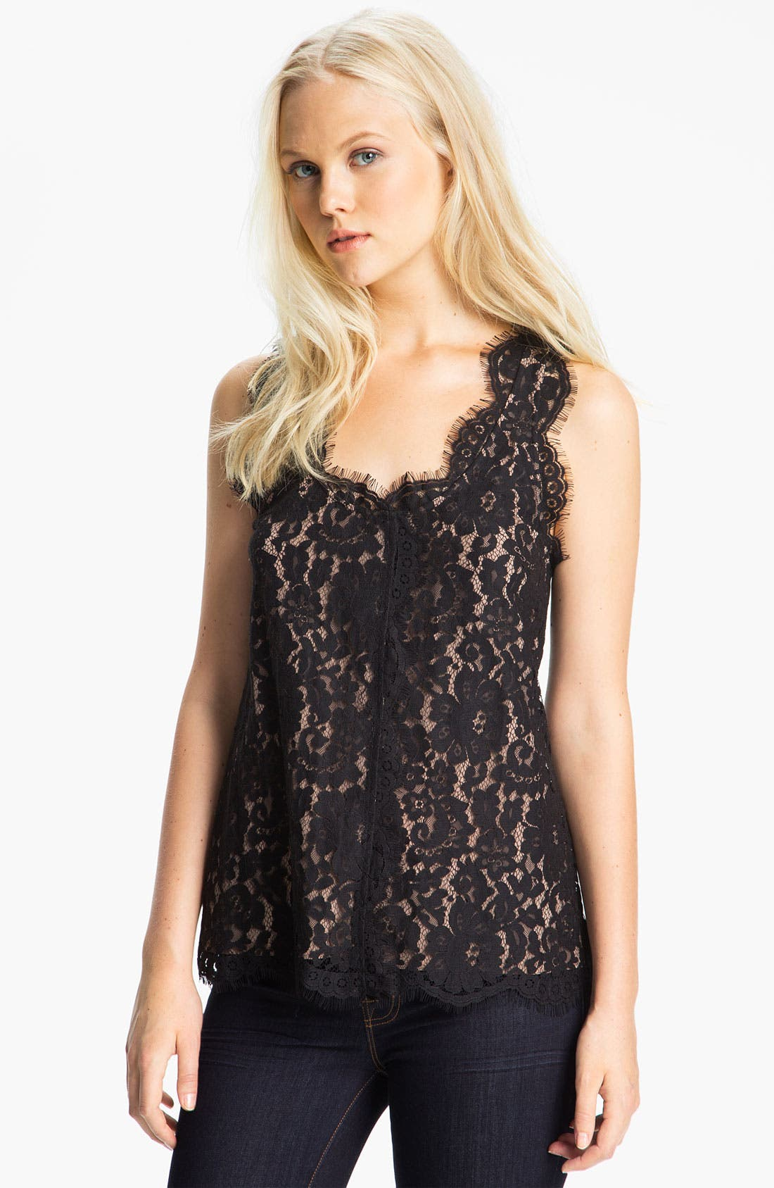 Alternate Image 1 Selected - Joie 'Andelle' Lace Tank