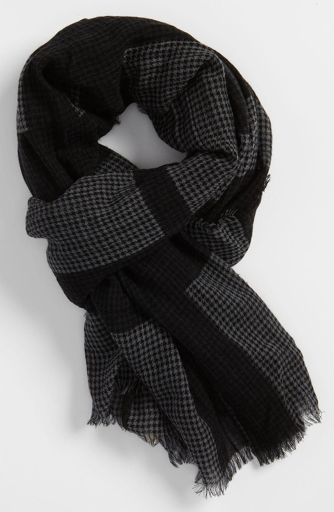 Alternate Image 1 Selected - Burberry Houndstooth Scarf