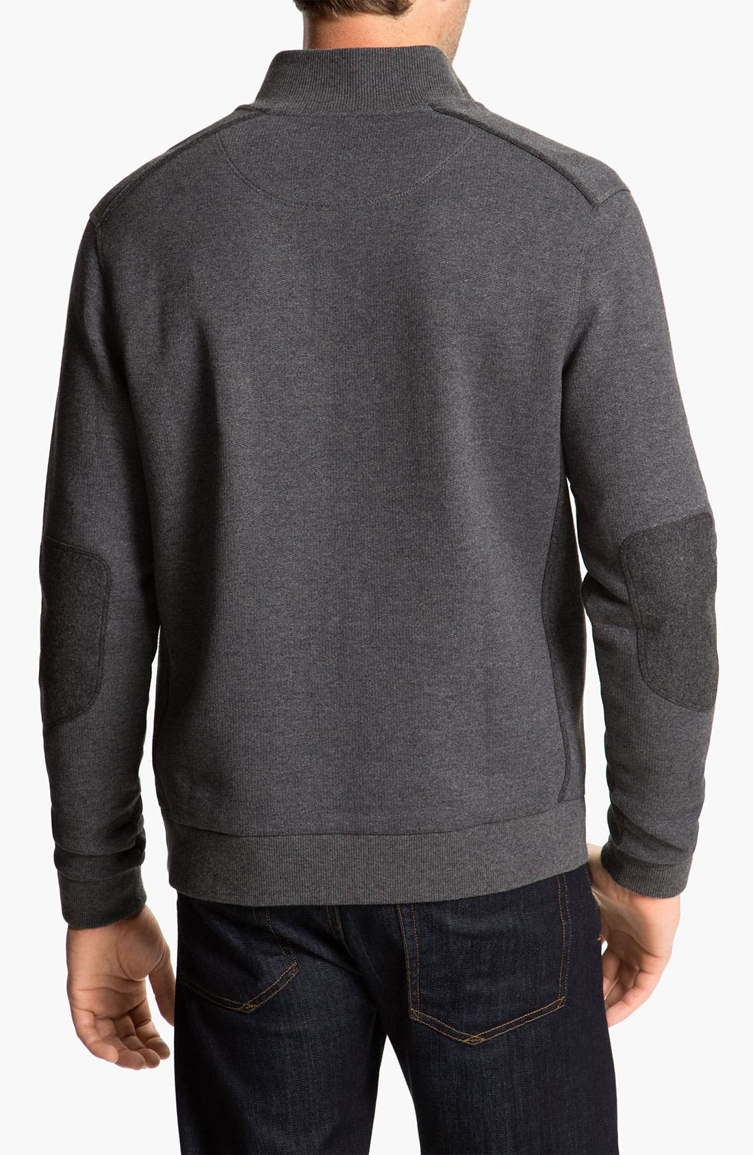 Alternate Image 2  - BOSS Black 'Sondrio 32' Mock Neck Pullover