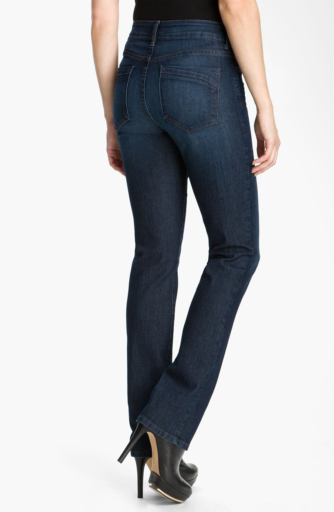 Alternate Image 2  - NYDJ 'Marilyn' Straight Leg Stretch Jeans