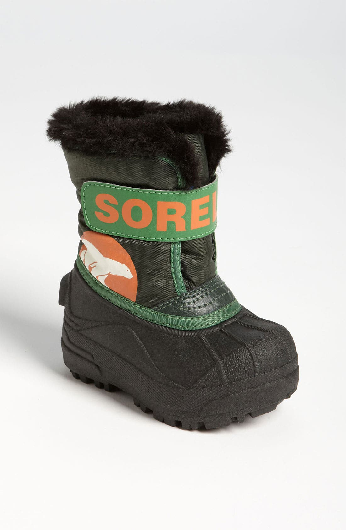Alternate Image 1 Selected - SOREL 'Snow Commander' Boot (Baby & Walker)