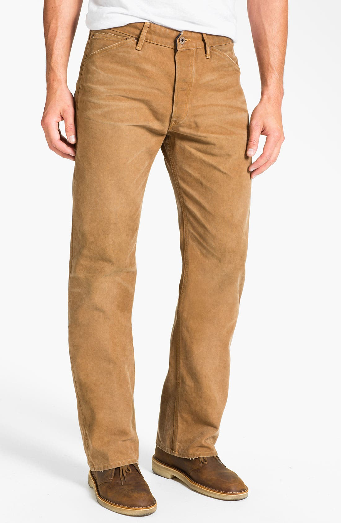Alternate Image 1 Selected - Rising Sun 'Rigger Duck' Relaxed Straight Leg Pants