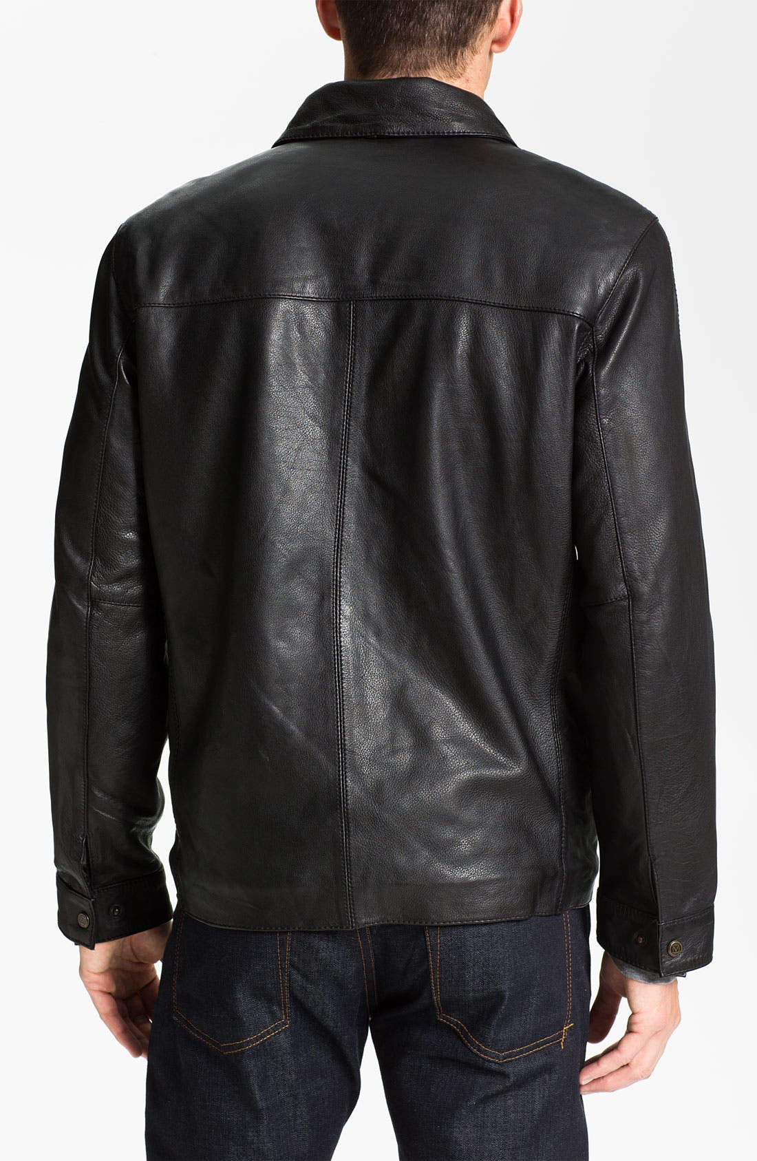 Alternate Image 2  - Marc New York by Andrew Marc 'Eli' Leather Jacket
