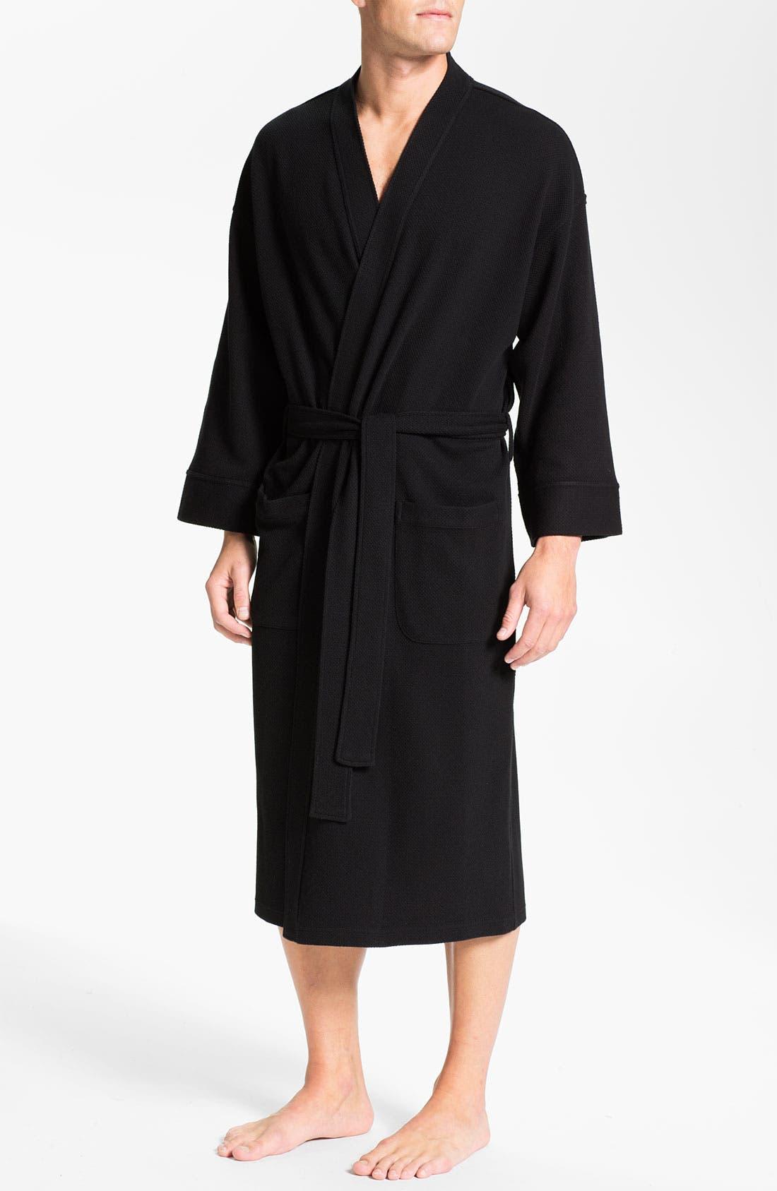 Alternate Image 1 Selected - Nordstrom Men's Shop Thermal Robe