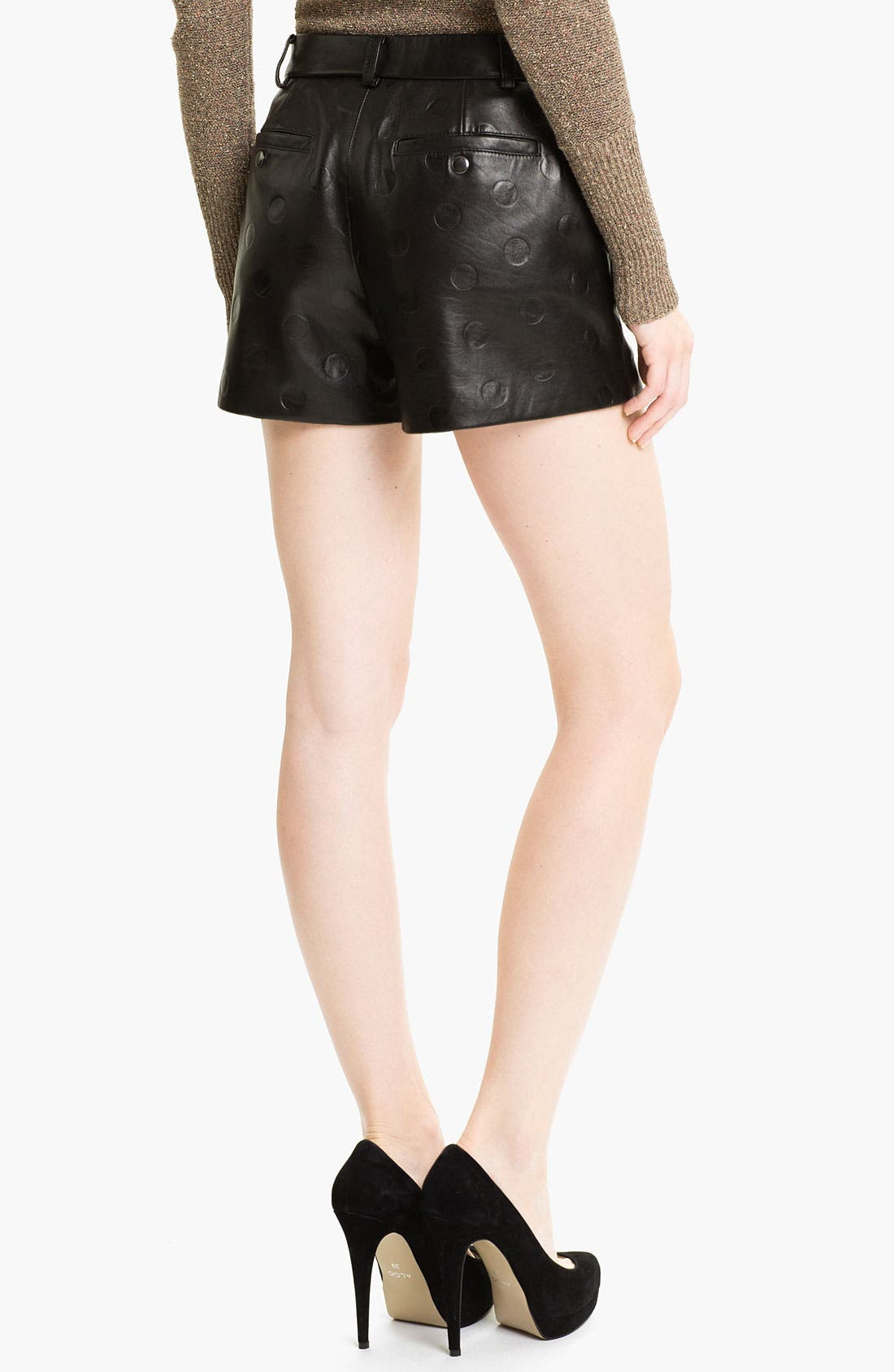 Alternate Image 2  - MARC BY MARC JACOBS 'Gia' Dot Leather Shorts