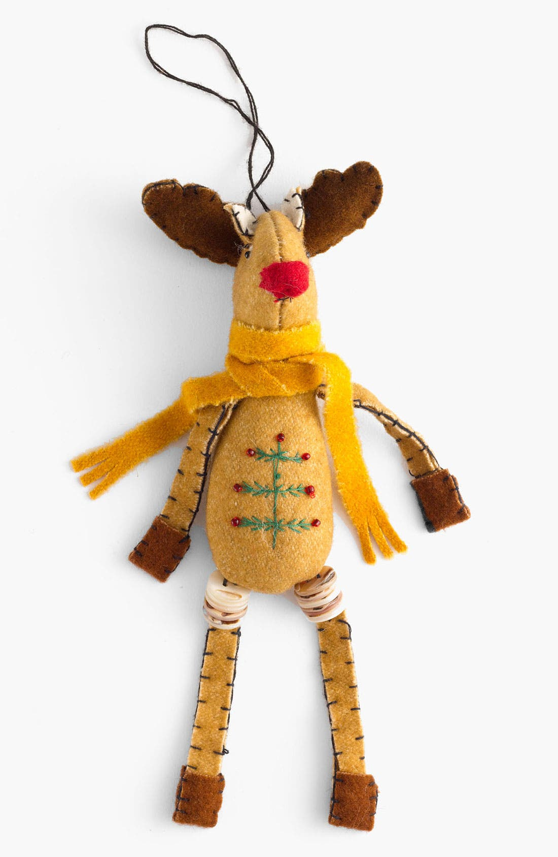 Main Image - New World Arts 'Puffy Mr. Moose' Ornament