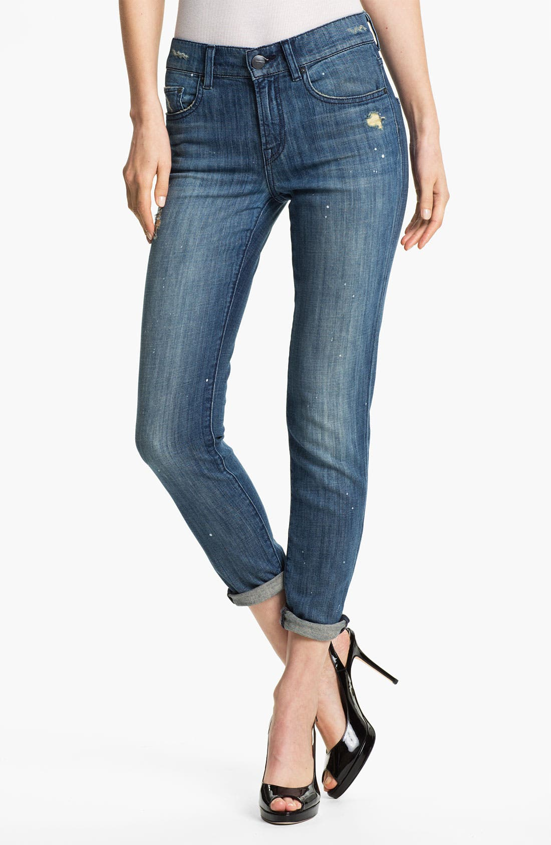 Alternate Image 1 Selected - Vince Relaxed Skinny Jeans